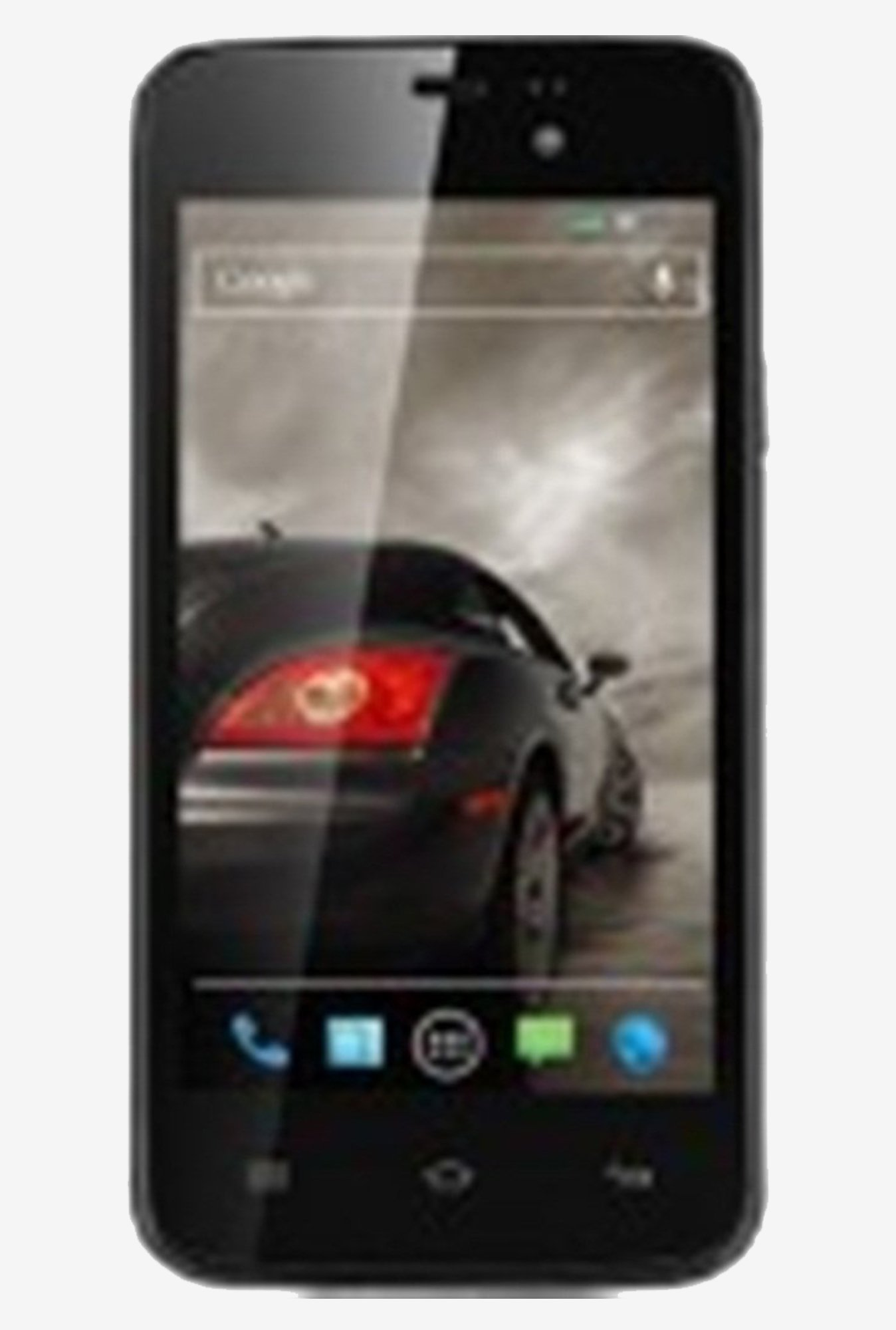 Xolo A500s Lite 4-inch LCD touchscreen Smart Phone (Black)