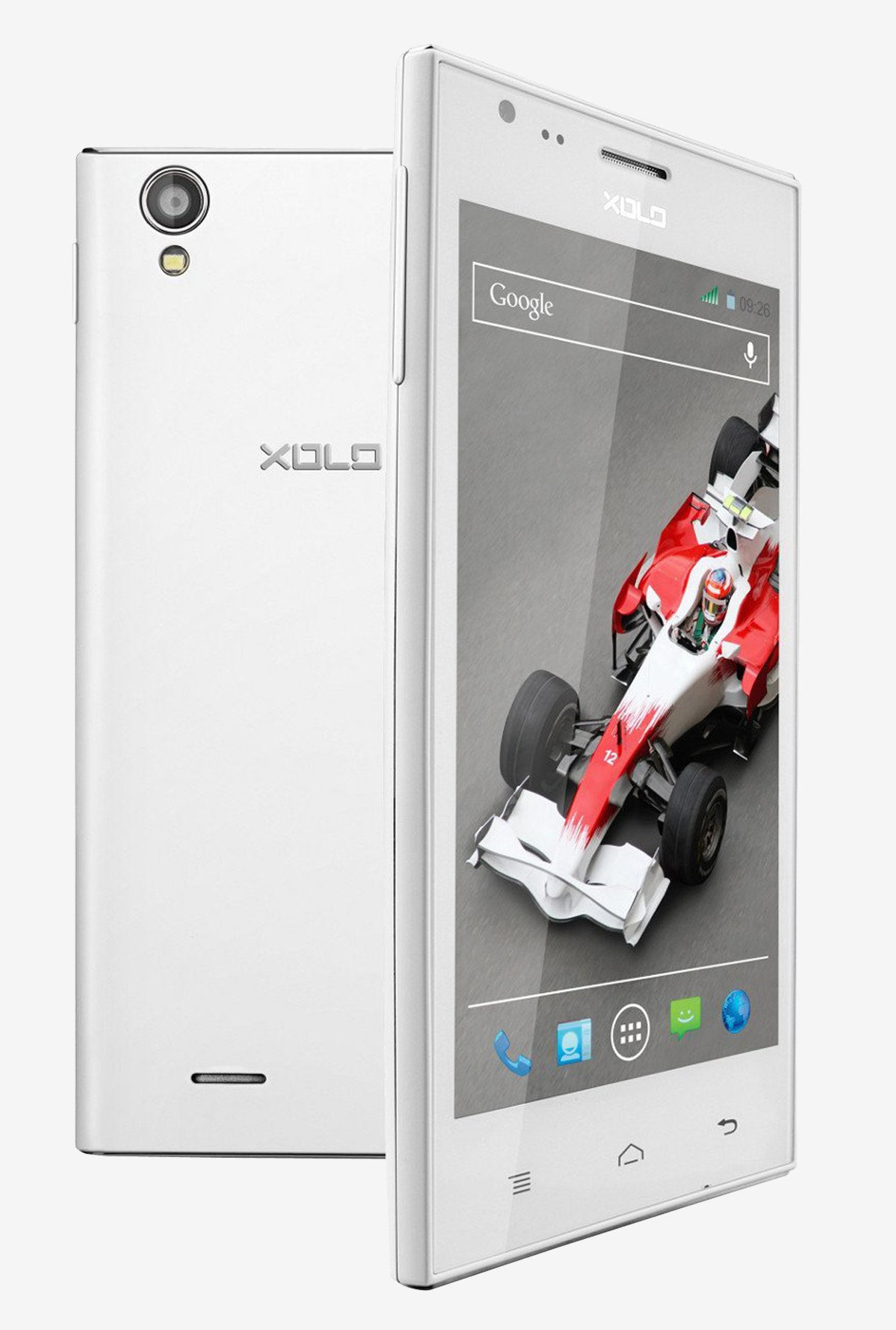 Xolo A600 Android 4.2 Jelly Bean OS (Blue)
