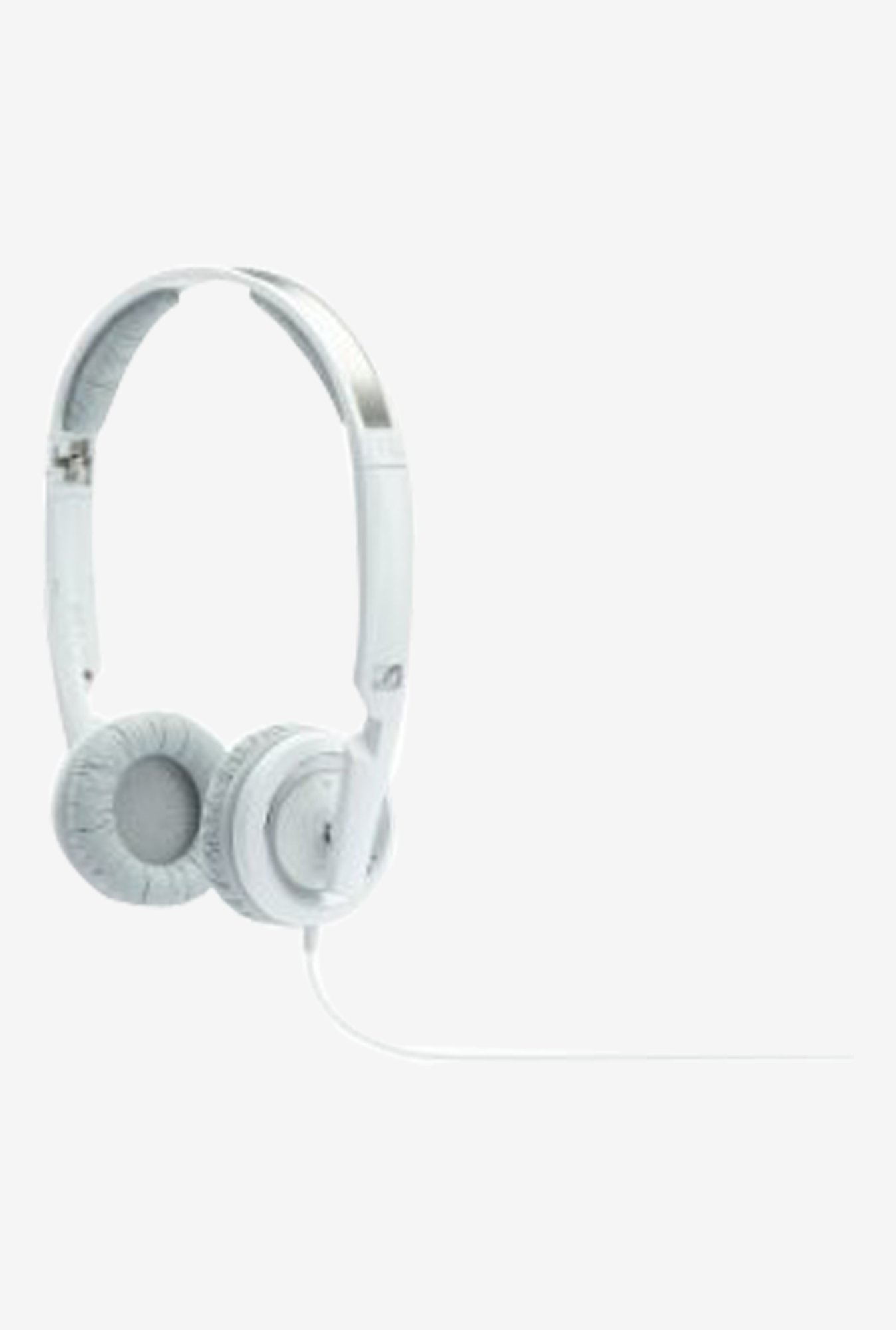 Sennheiser PX 200 II Foldable Mini On-Ear Headphone (White)