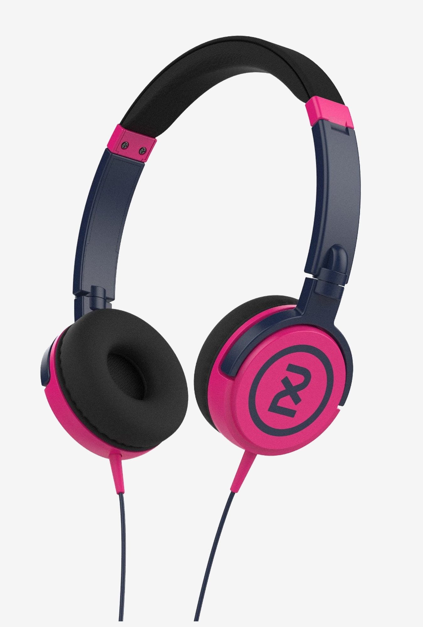 Skullcandy X5SHHZ-849 2XL Shakedown Headphone (Navy Pink)