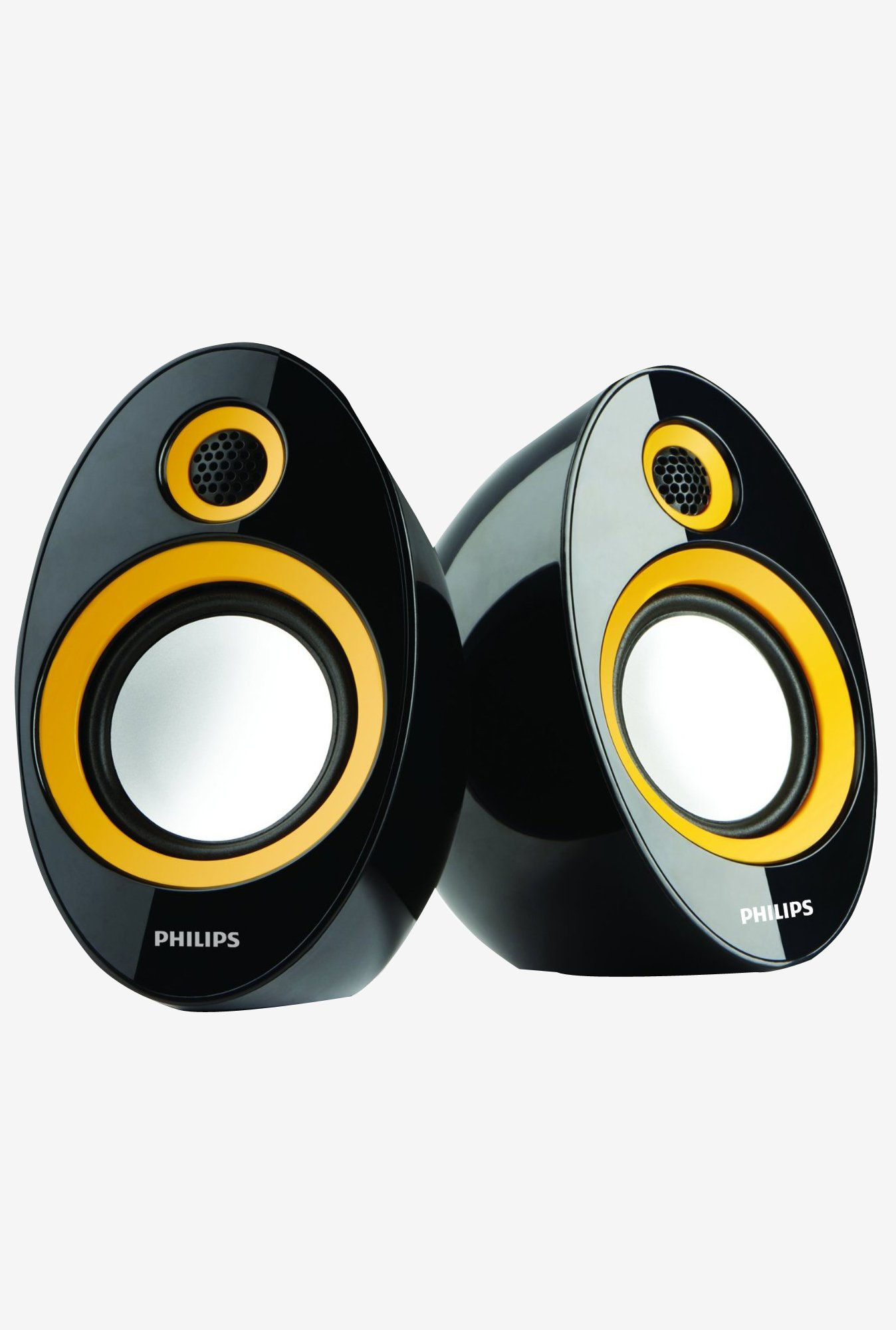 Philips SPA-60 2.0 Speaker with USB Plug (Yellow)