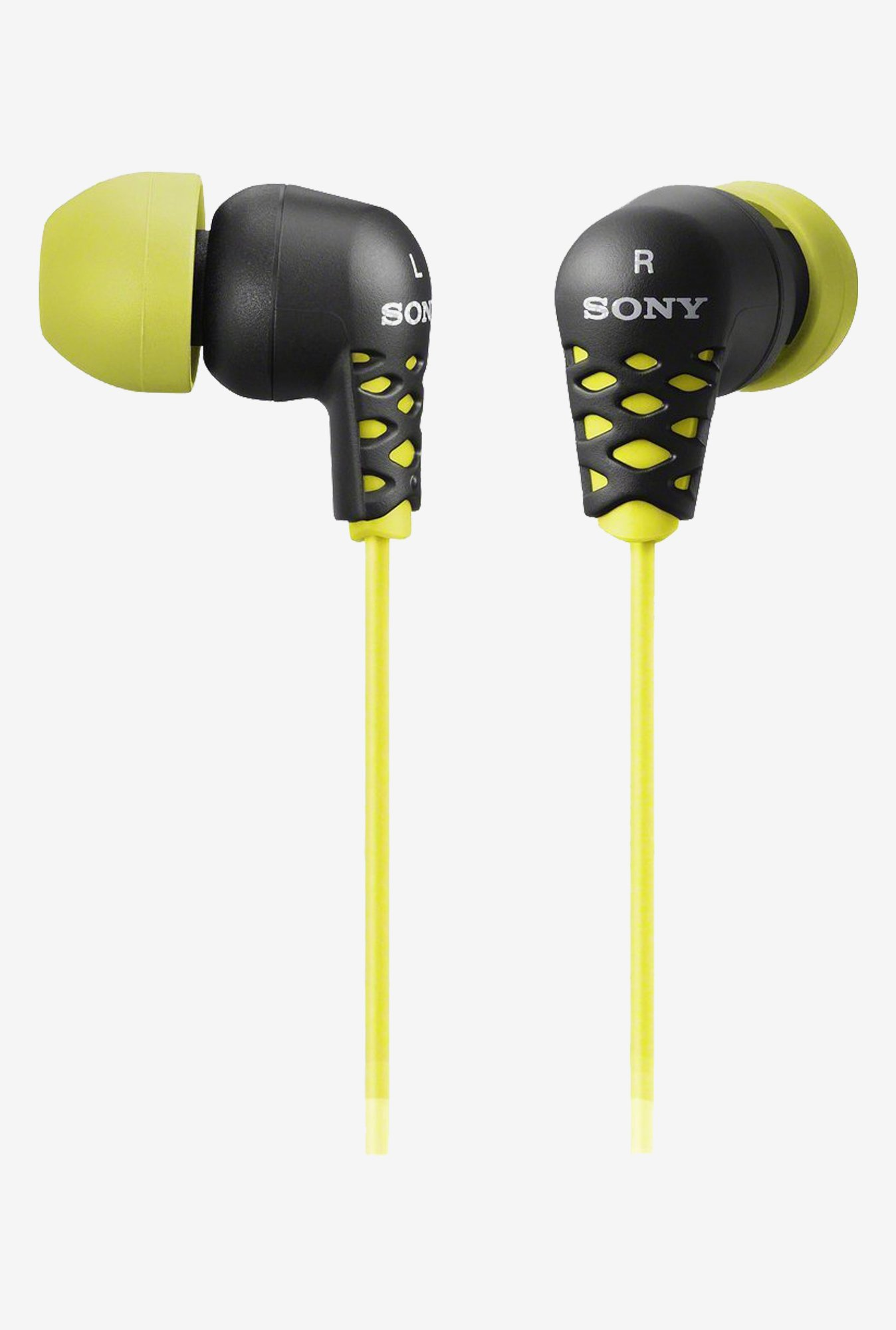 Sony EX Series MDREX37BY In-Ear Headphones (Yellow)
