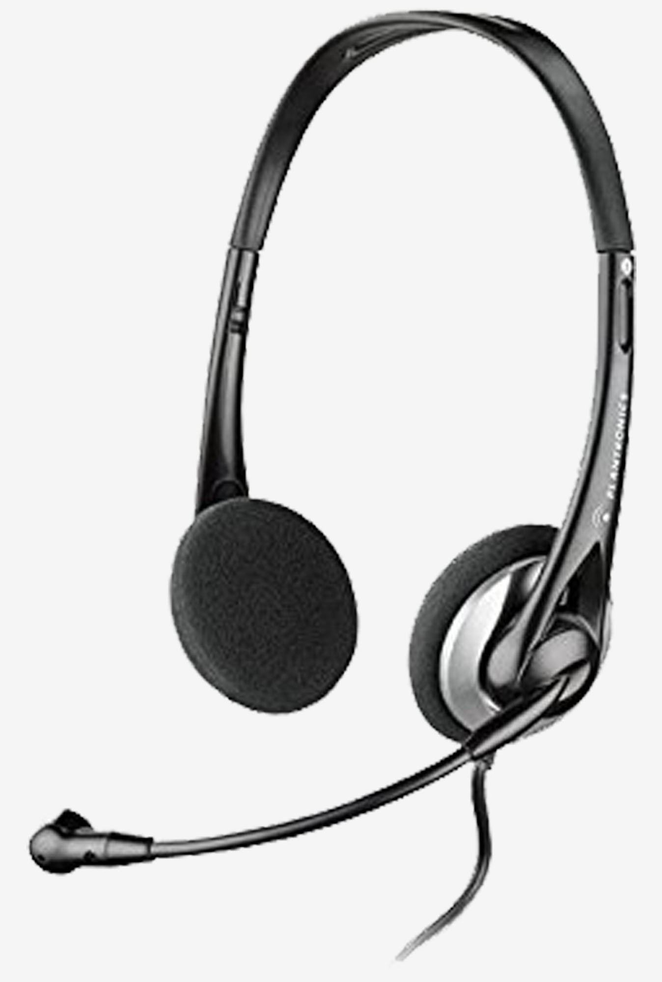 Plantronics Audio 326 Stereo PC Headset (Black)