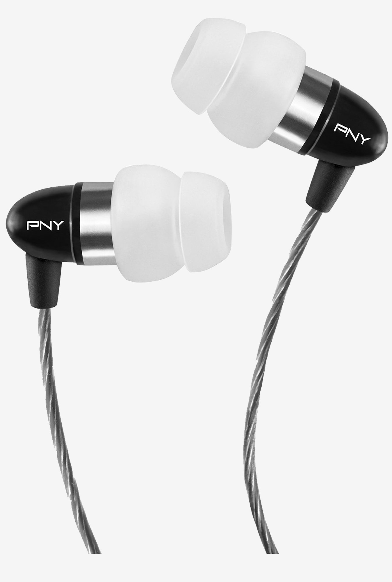 PNY AUD E 202 BK A RB In Ear Earphone (Black)