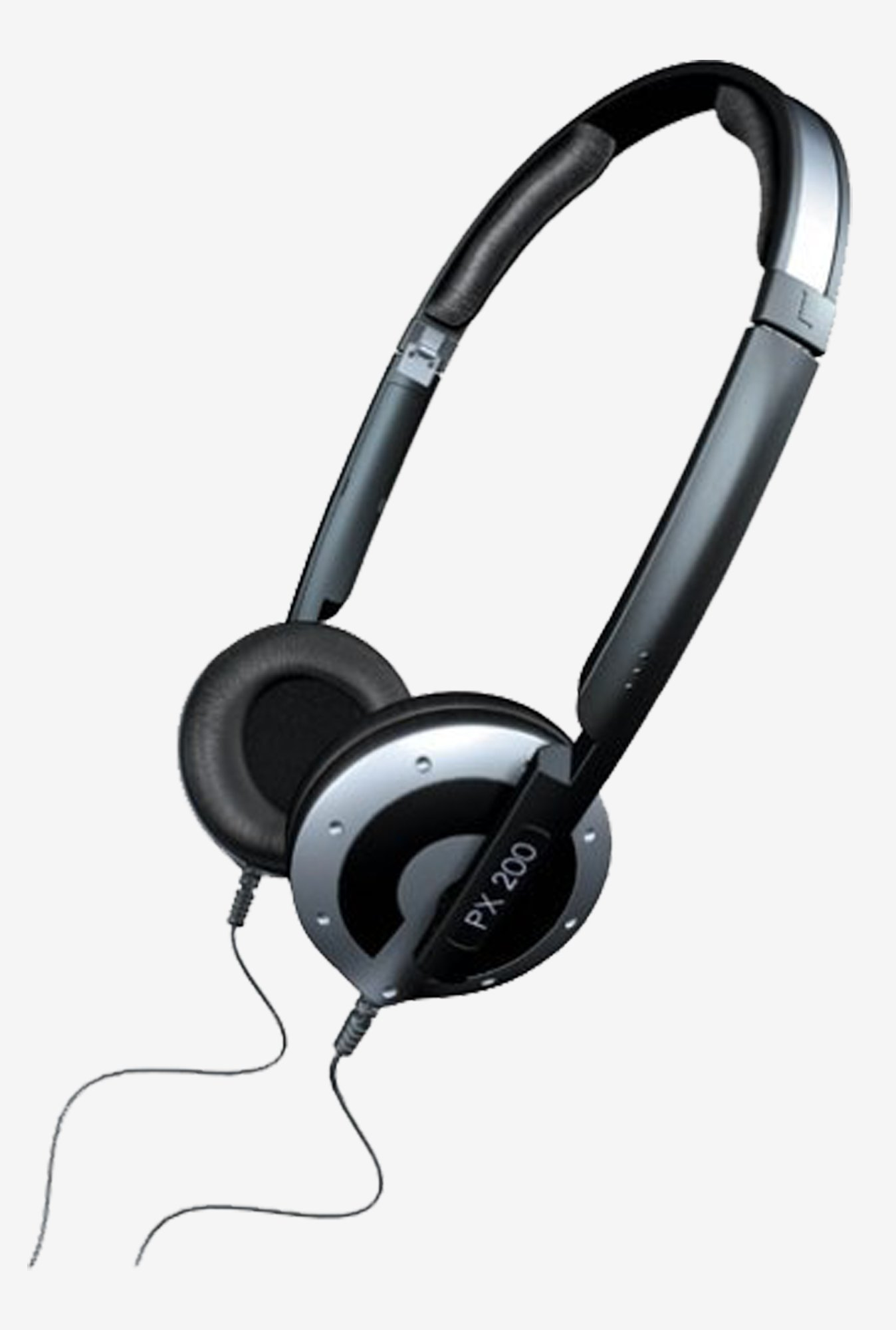 Sennheiser PX 200 II On the Ear Headphone (Black)