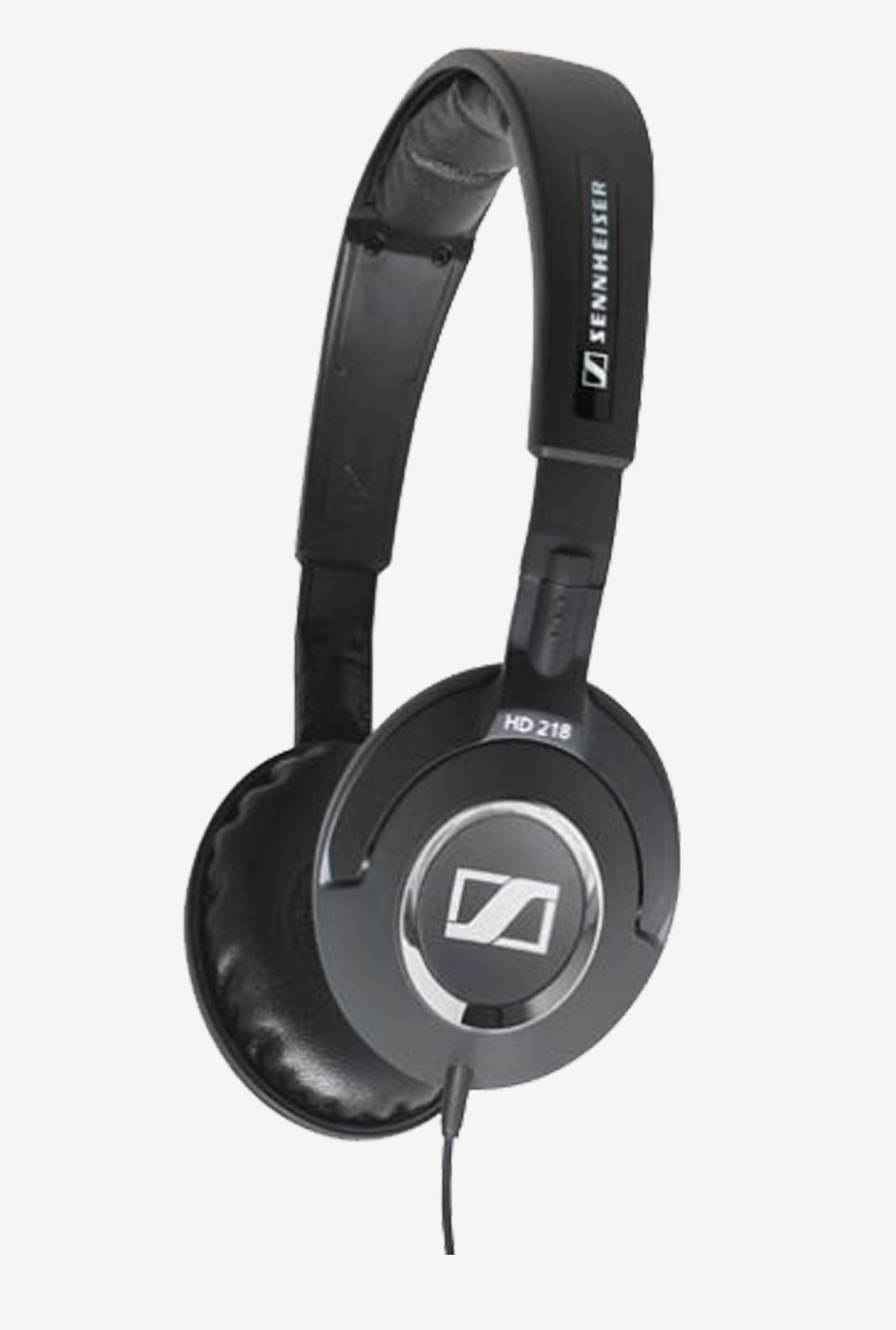 Sennheiser HD 218 On the Ear Stereo Headphone (Black)