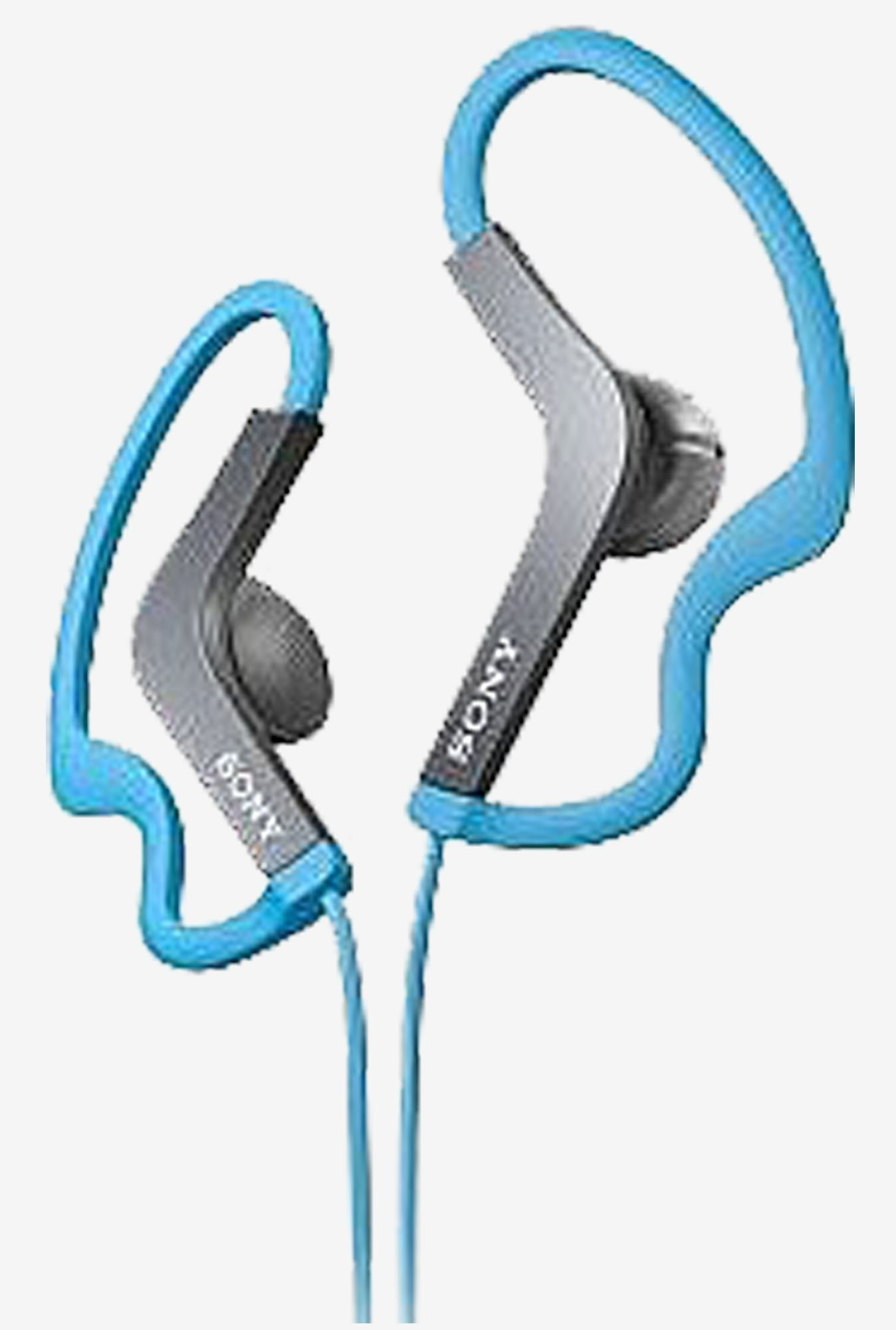 Sony Water-Resistant Active Sports Headphones (Blue)