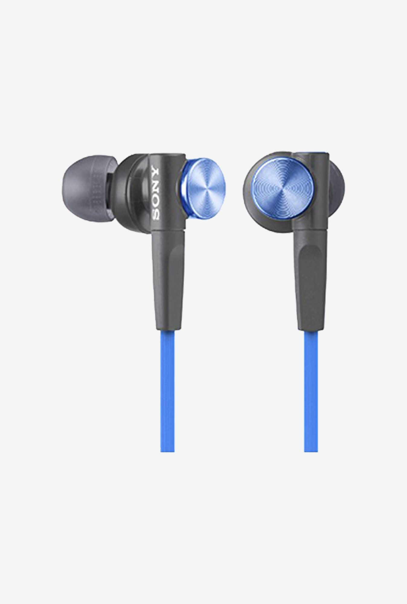 Sony In-Ear Dynamic Headphones MDR-XB50-L (Blue)