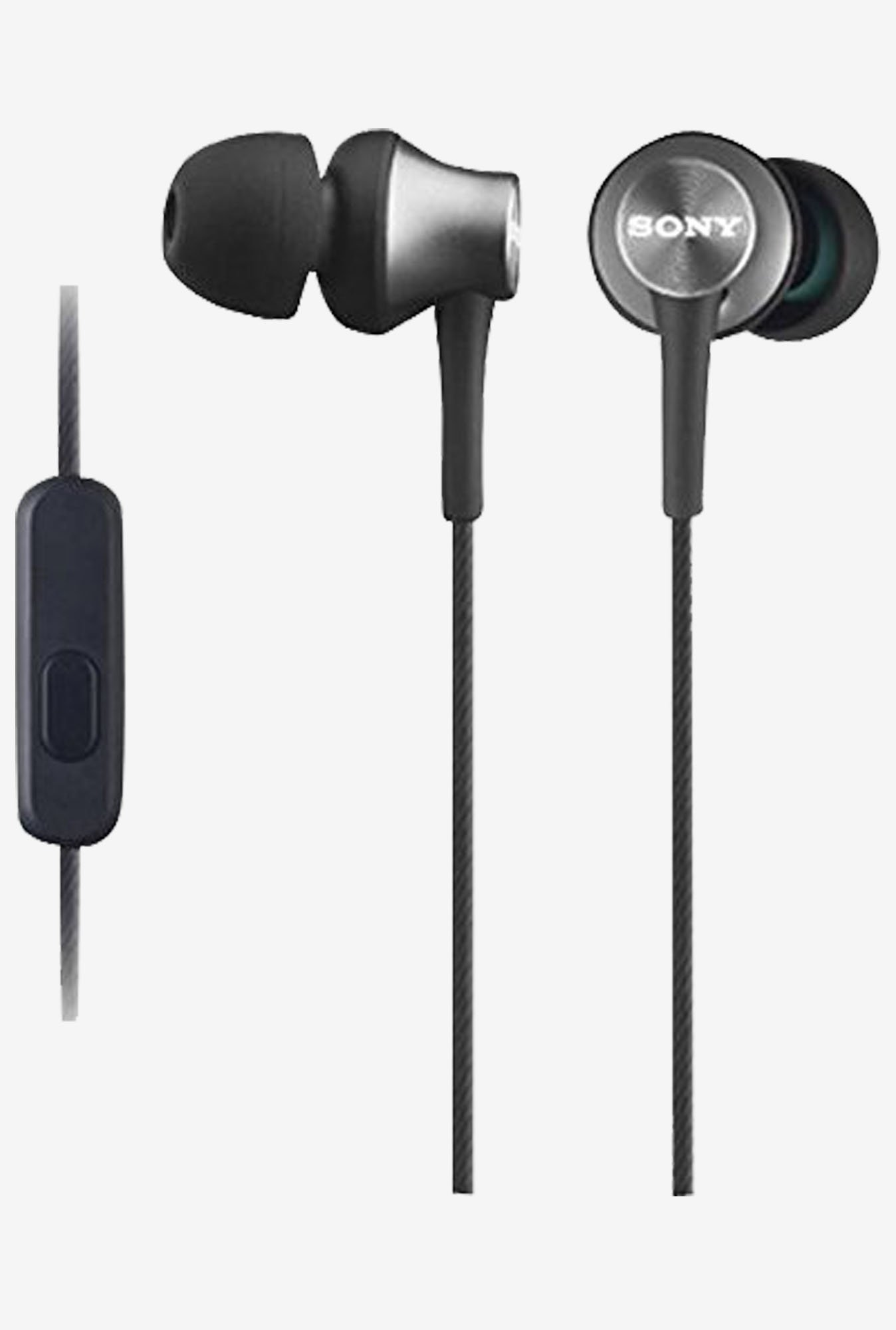 Sony MDR Ex450 H Sealed Receiver In the Ear (Gray)