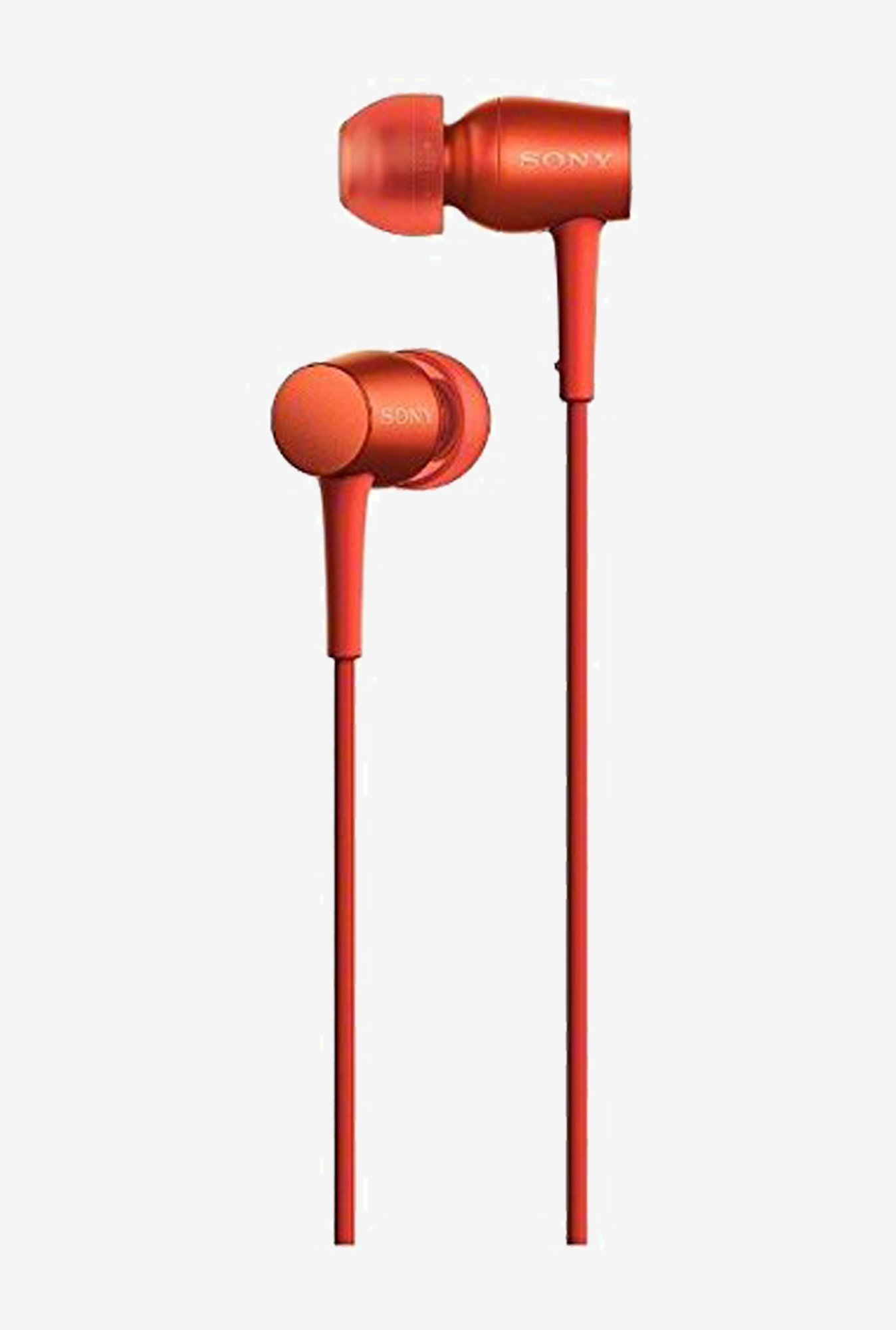 Sony Canal Type Earphone High-Resolution (Red)