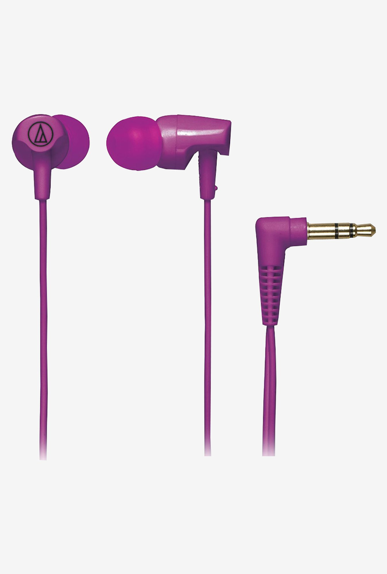 Audio Technica ATH-CLR100 In The Ear Headphones (Purple)