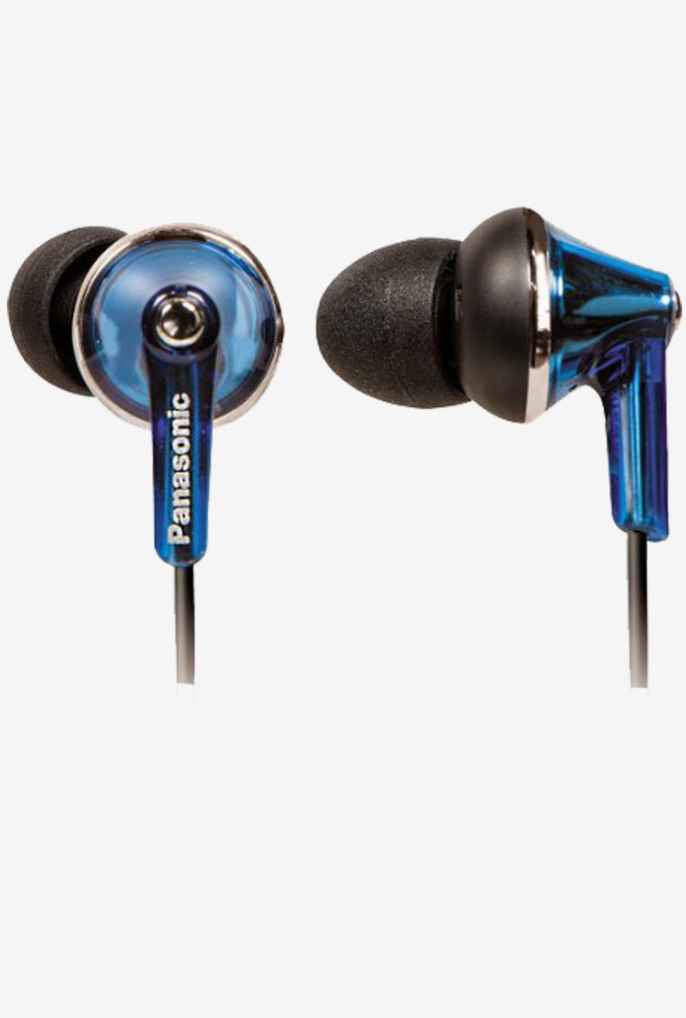 Panasonic RP-TCM190E-A Extra Bass In The Ear Earphone (Blue)