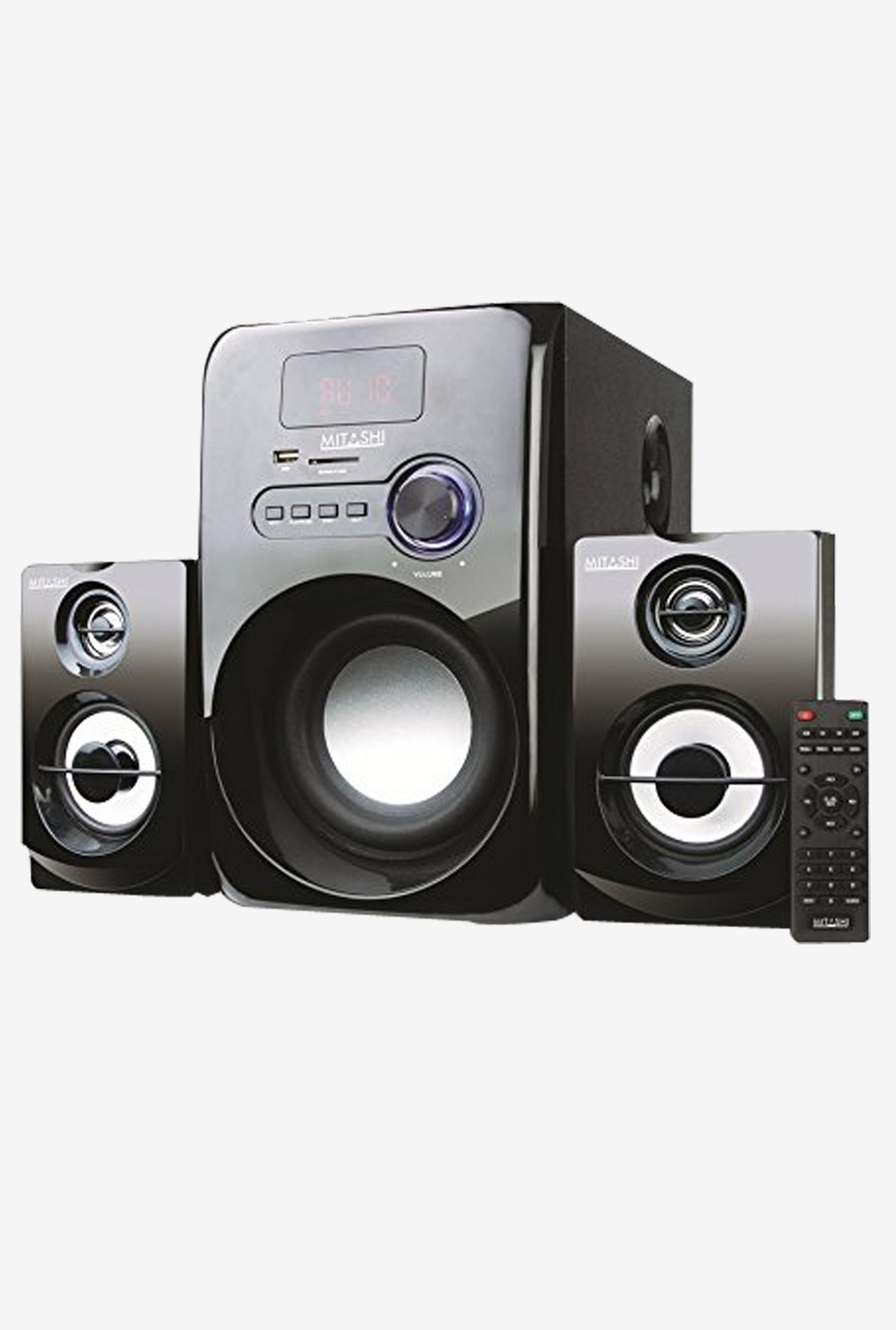 Mitashi HT 5275 BT 2.1 Channel Sub Woofer System (Black)