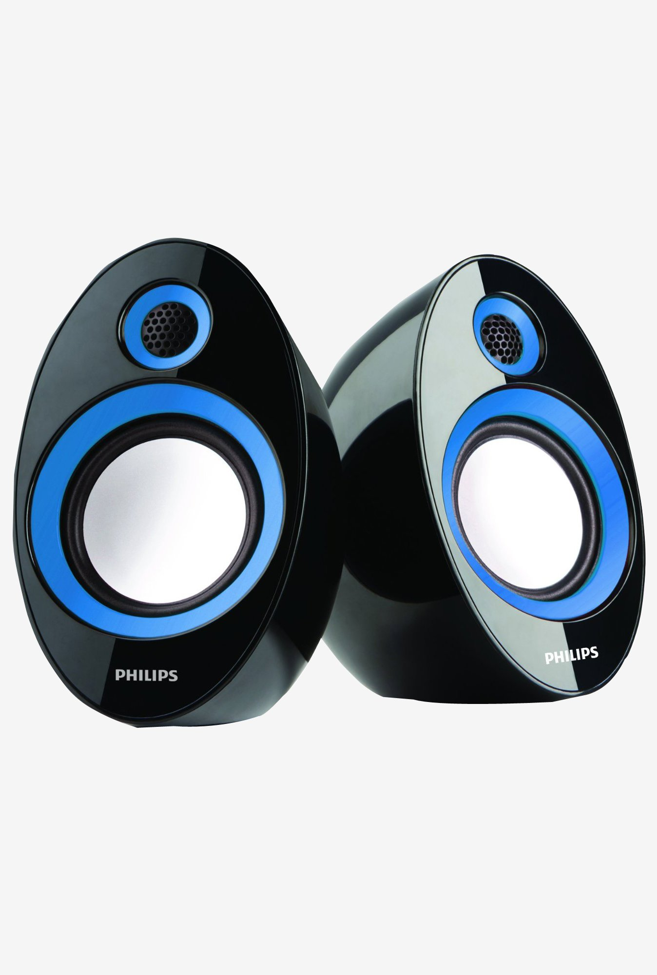 Philips SPA-60B/94 2.0 Speaker with USB Plug (Blue)