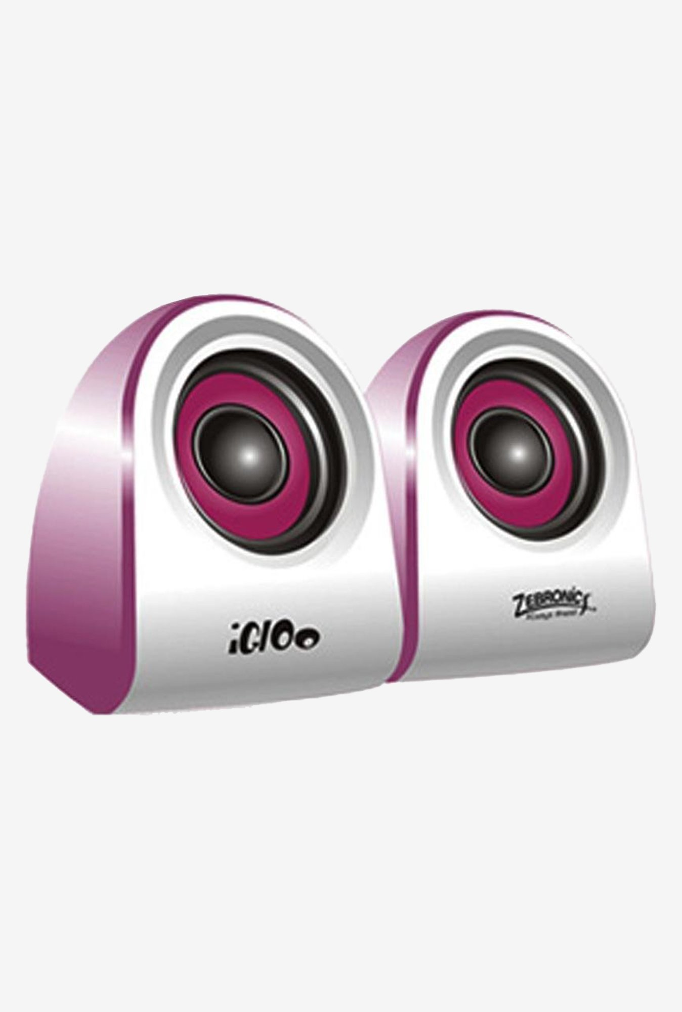 Zebronics Igloo 2.0 Multimedia Speaker (Purple)