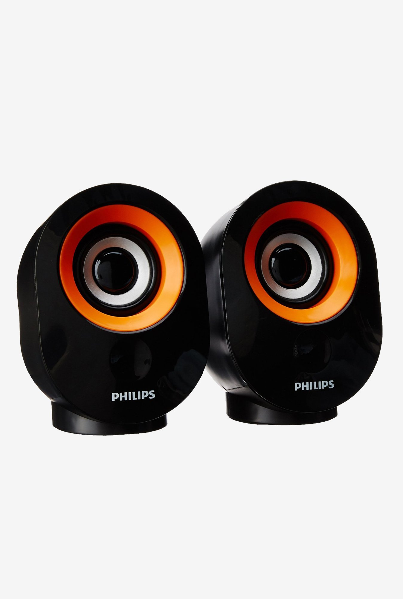 Philips SPA50G/94 2.0 Channel Speakers (Orange)