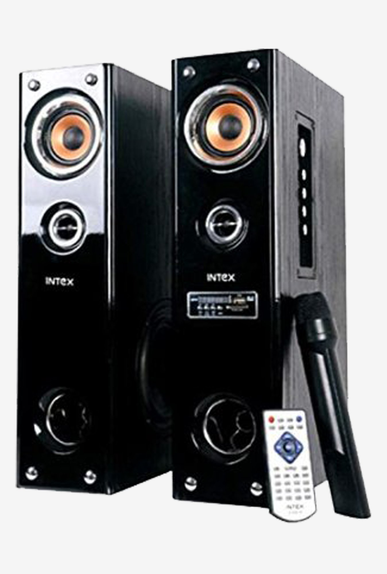 Intex IT-5500 SUF 2.0 Multimedia Speaker System (Black)