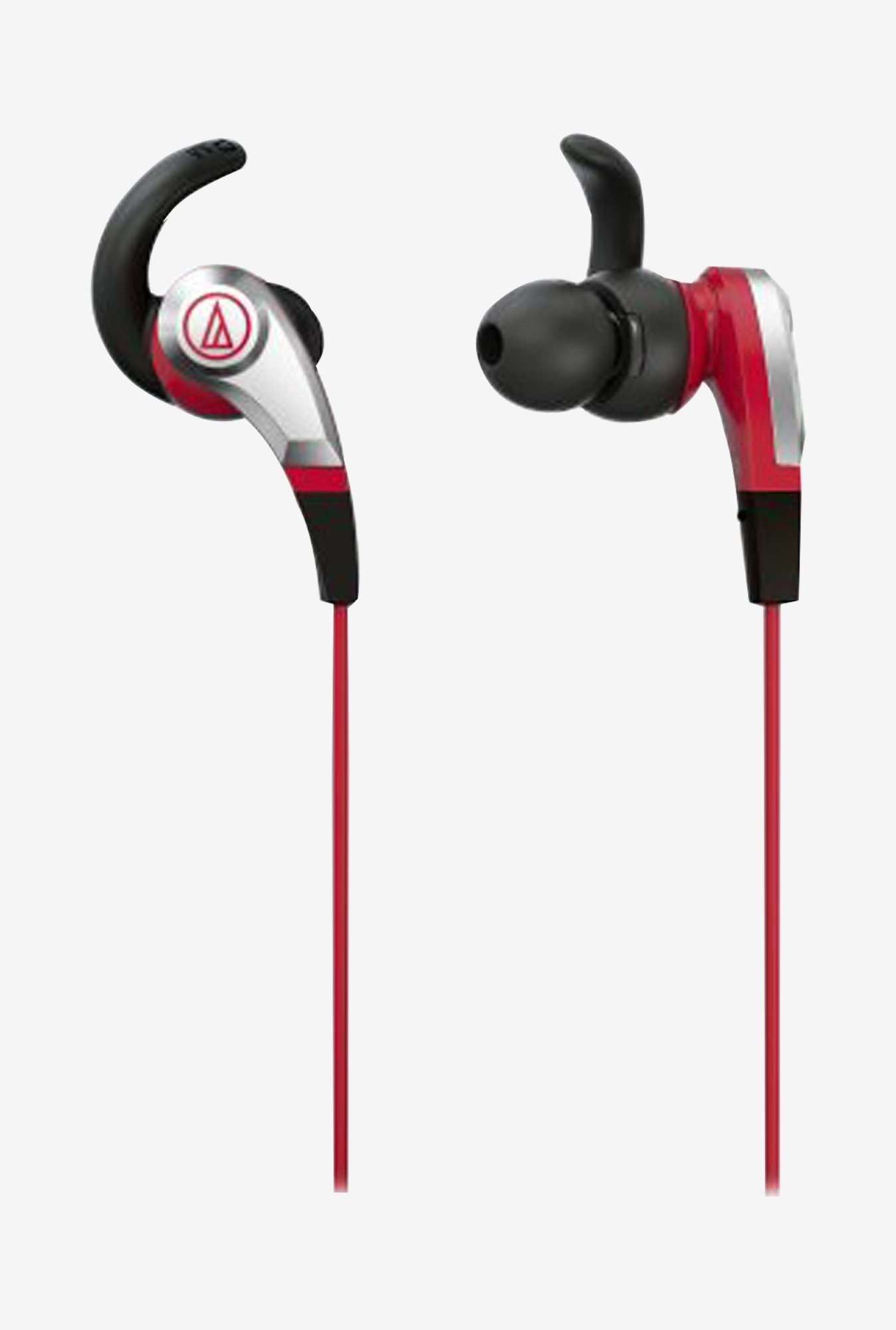 Audio Technica ATH-CKX5 RD Sonic Fuel headphones (Red)