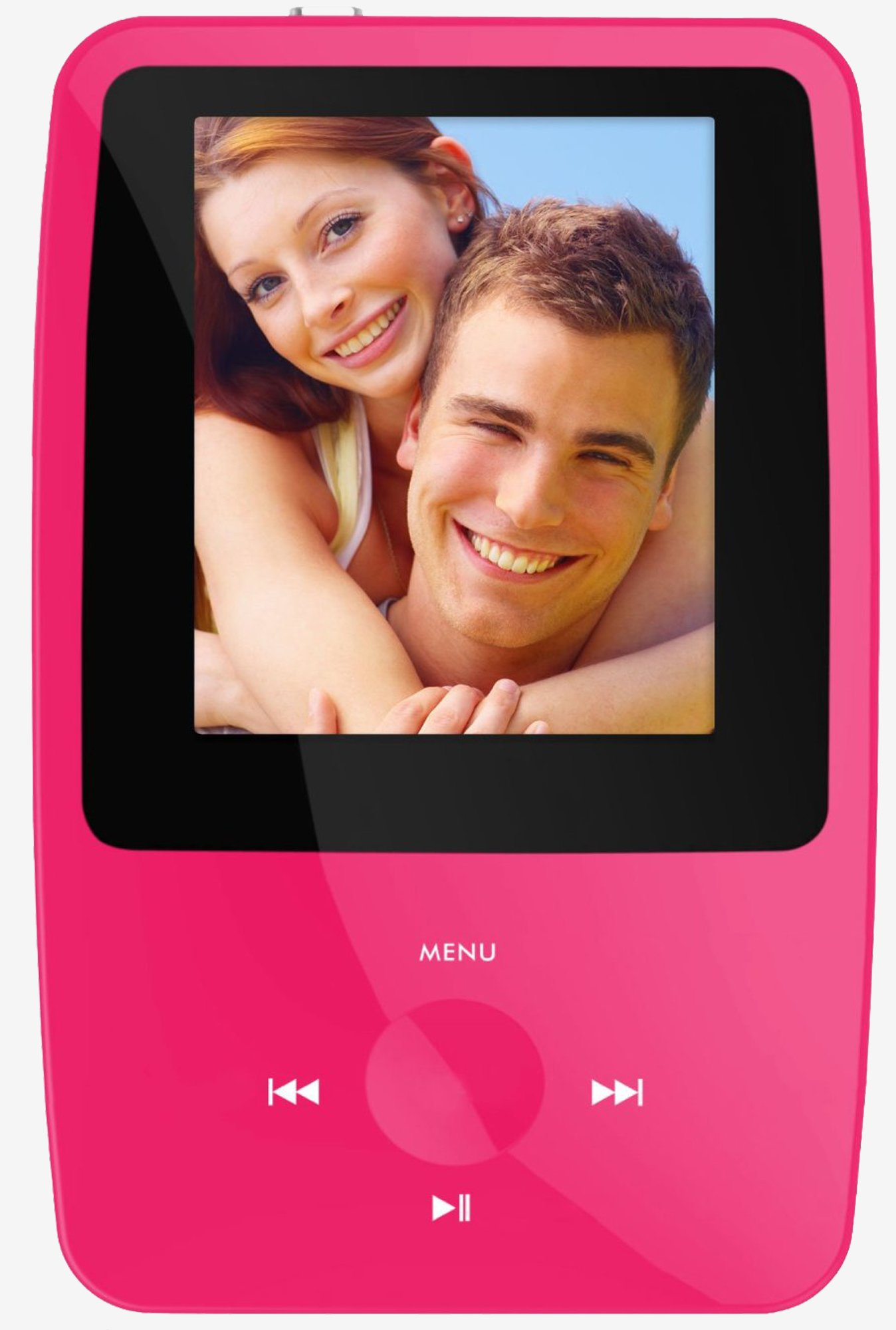 Ematic EMS004PN eSport Clip MP3 Video Player (Pink)