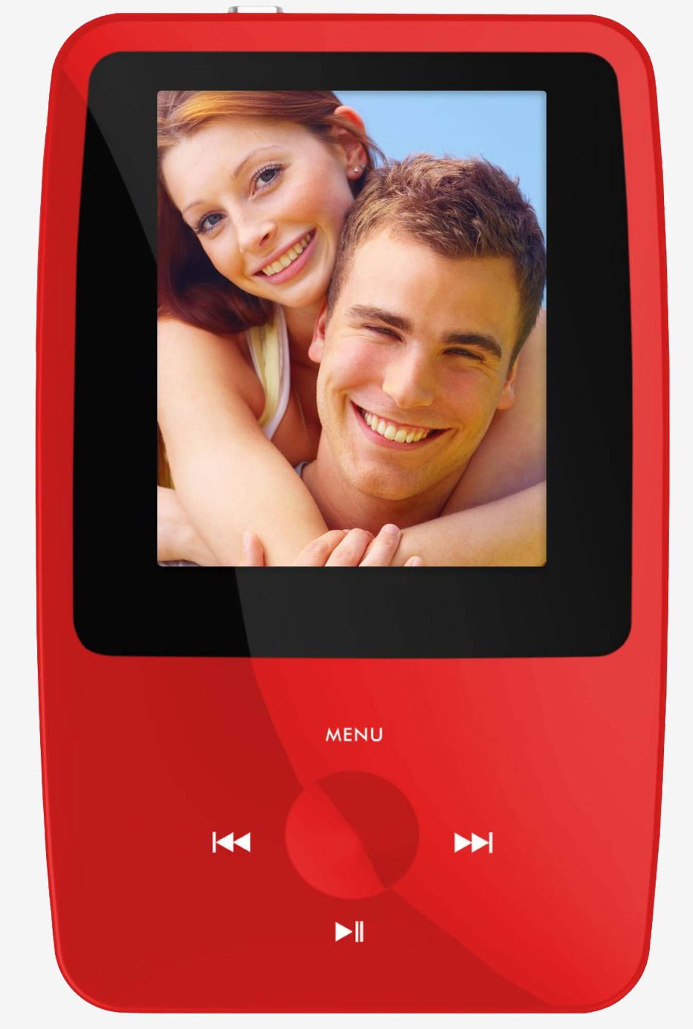 Ematic EMS004RD eSport Clip MP3 Video Player (Red)