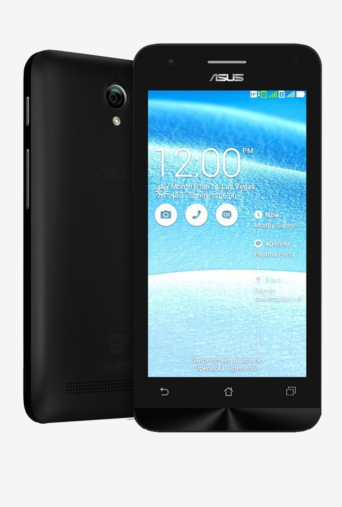 Asus Zenfone C (Black, 8GB)
