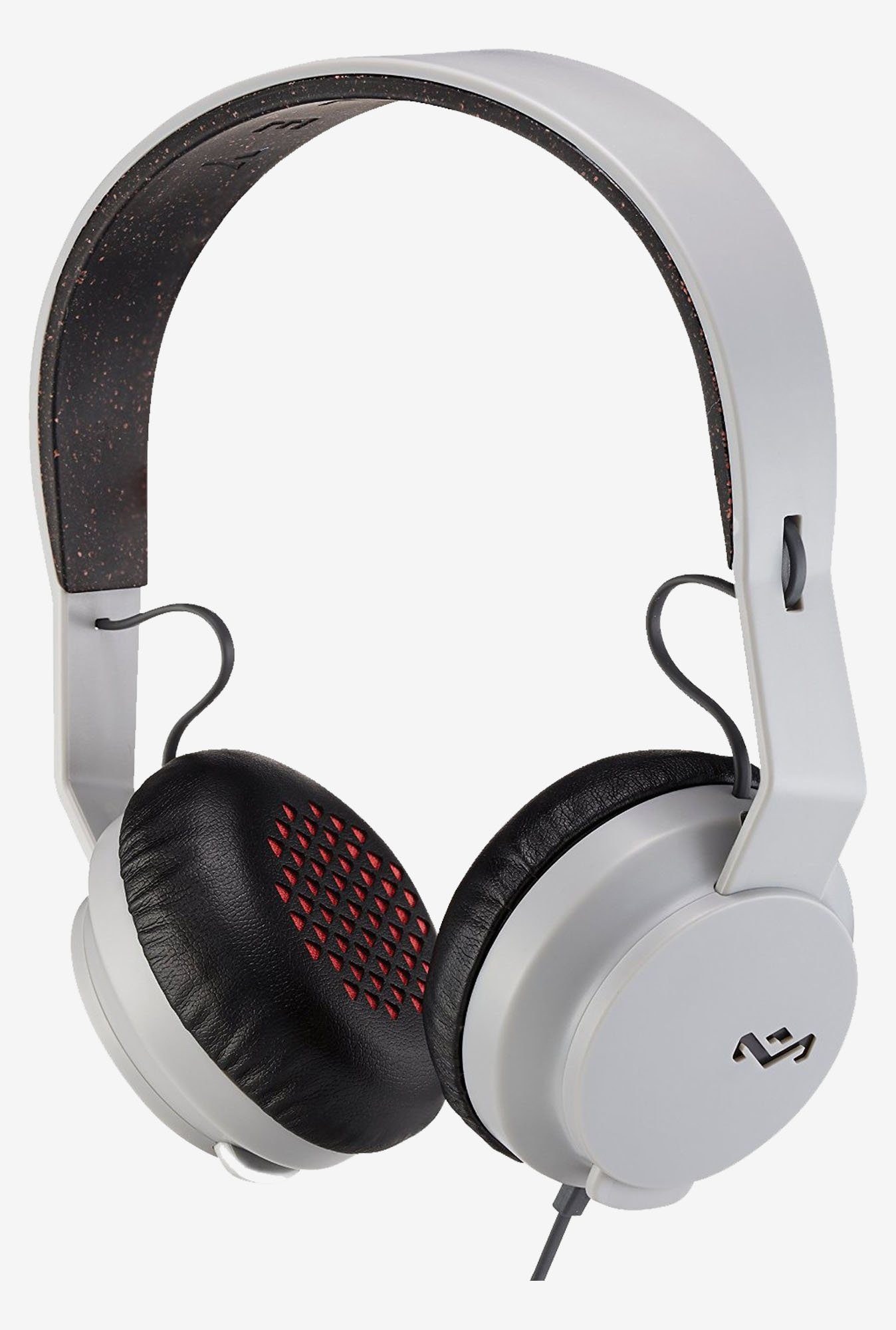 House of Marley EM-JH081-GY Roar On the Ear Headphone (Grey)