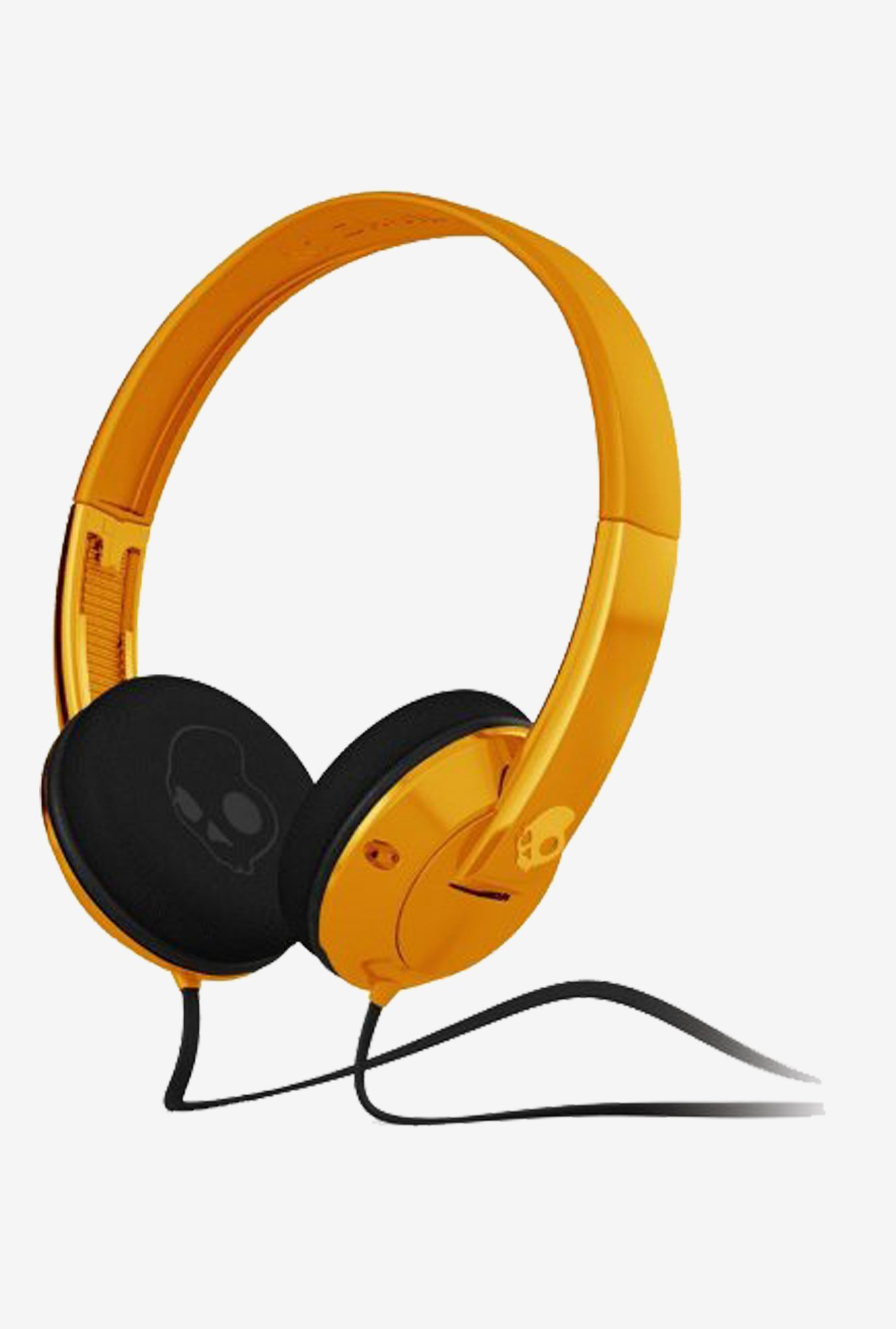 Skullcandy SGURFZ-085 Uprock On the Ear Headphone (Orange)