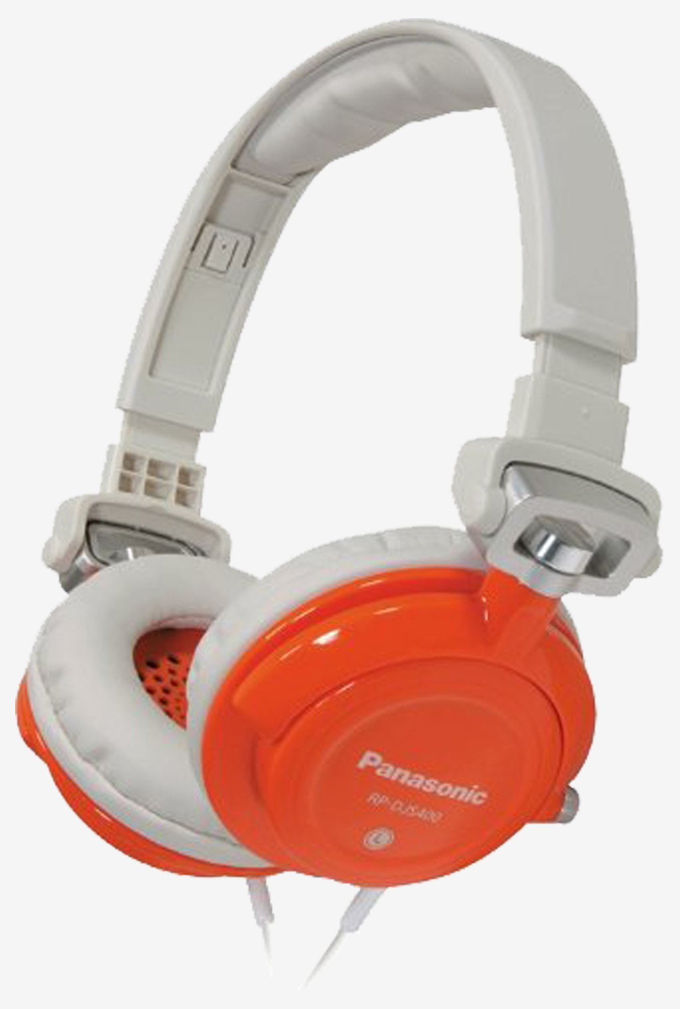 Panasonic RPDJS400D DJ Street Model Headphones (Orange)