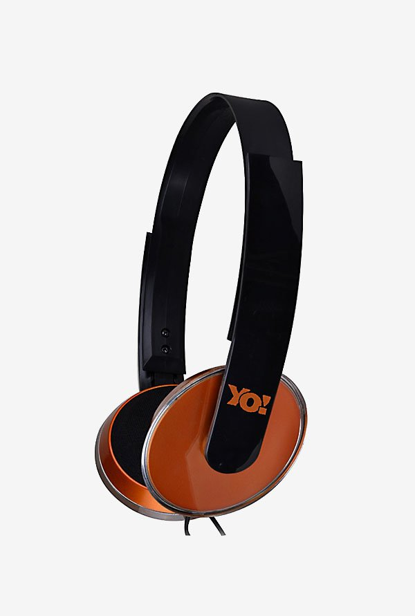 Lapcare LMH 207 Wired Multimedia Headset (Orange)