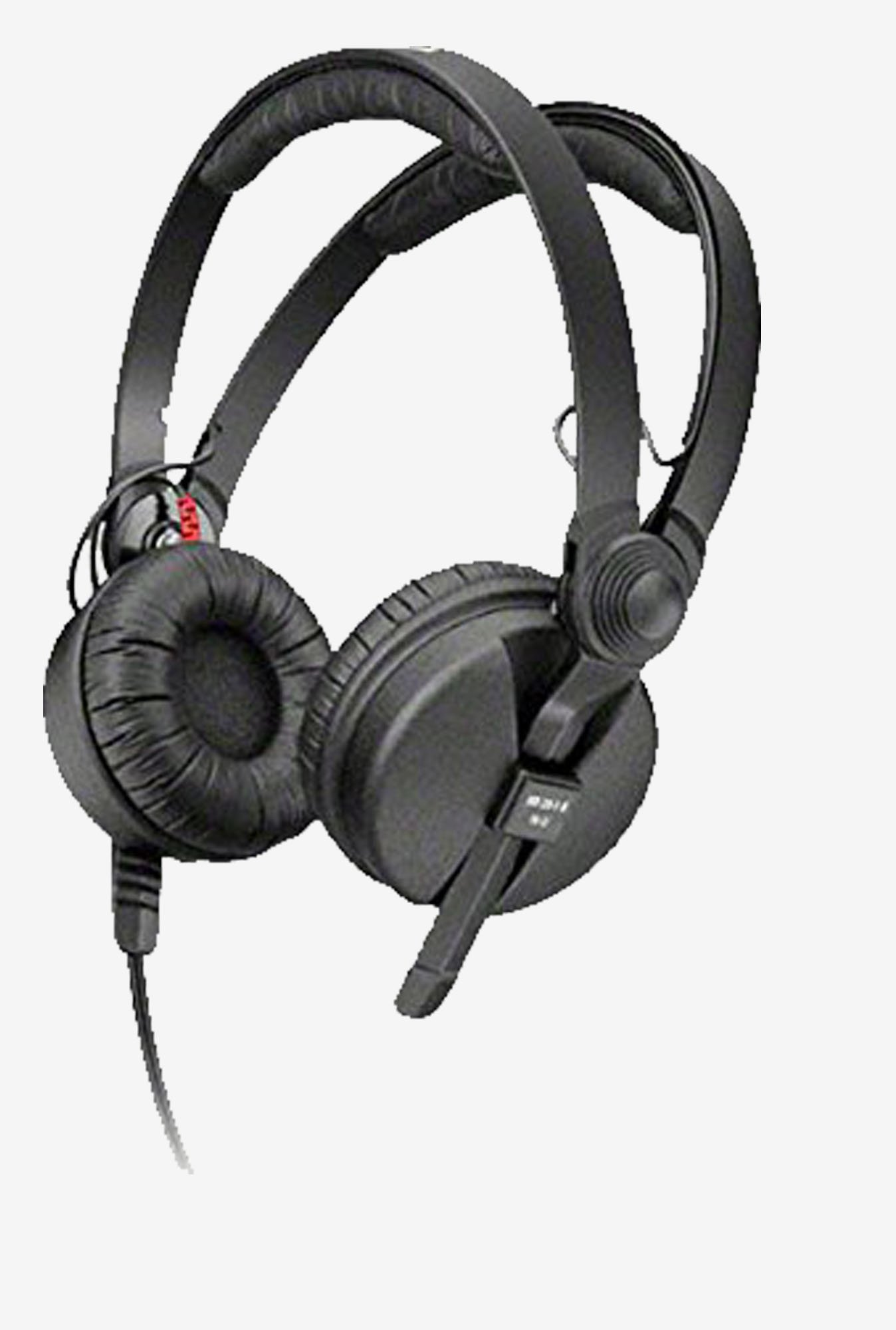 Sennheiser HD 25 II On the Ear Headphone (Black)