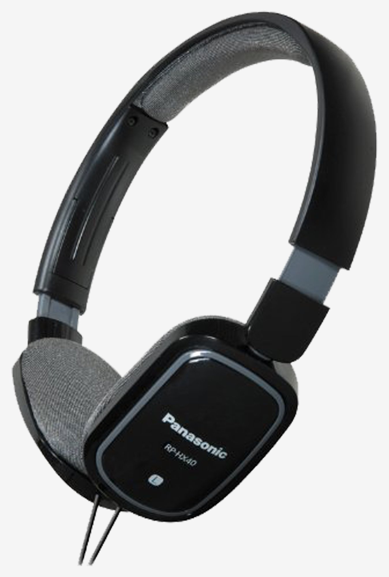 Panasonic RPHXC40K on the Ear Headphones Monitor- Black