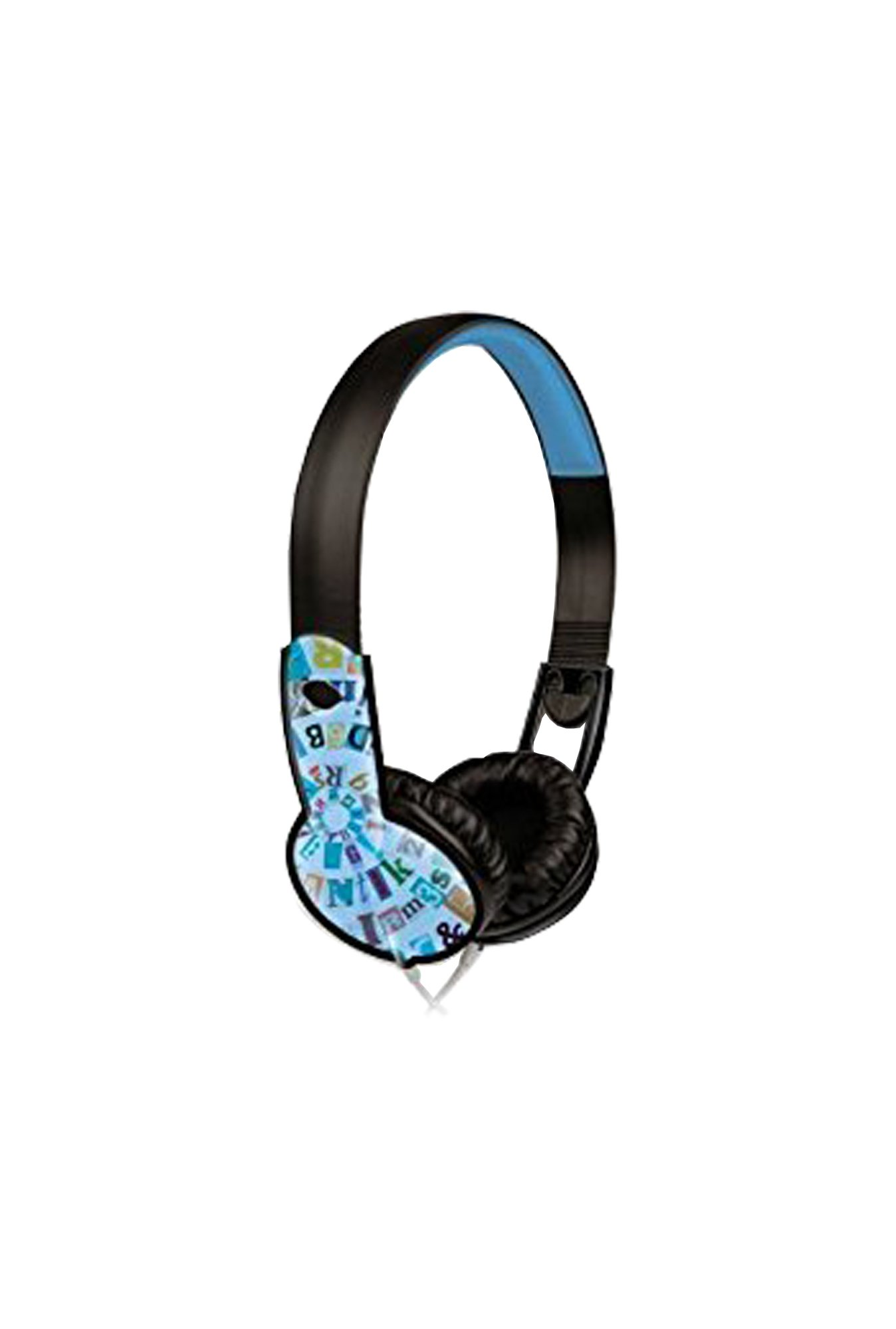 Maxell 190297 Safe Soundz Overear Headphones- Blue