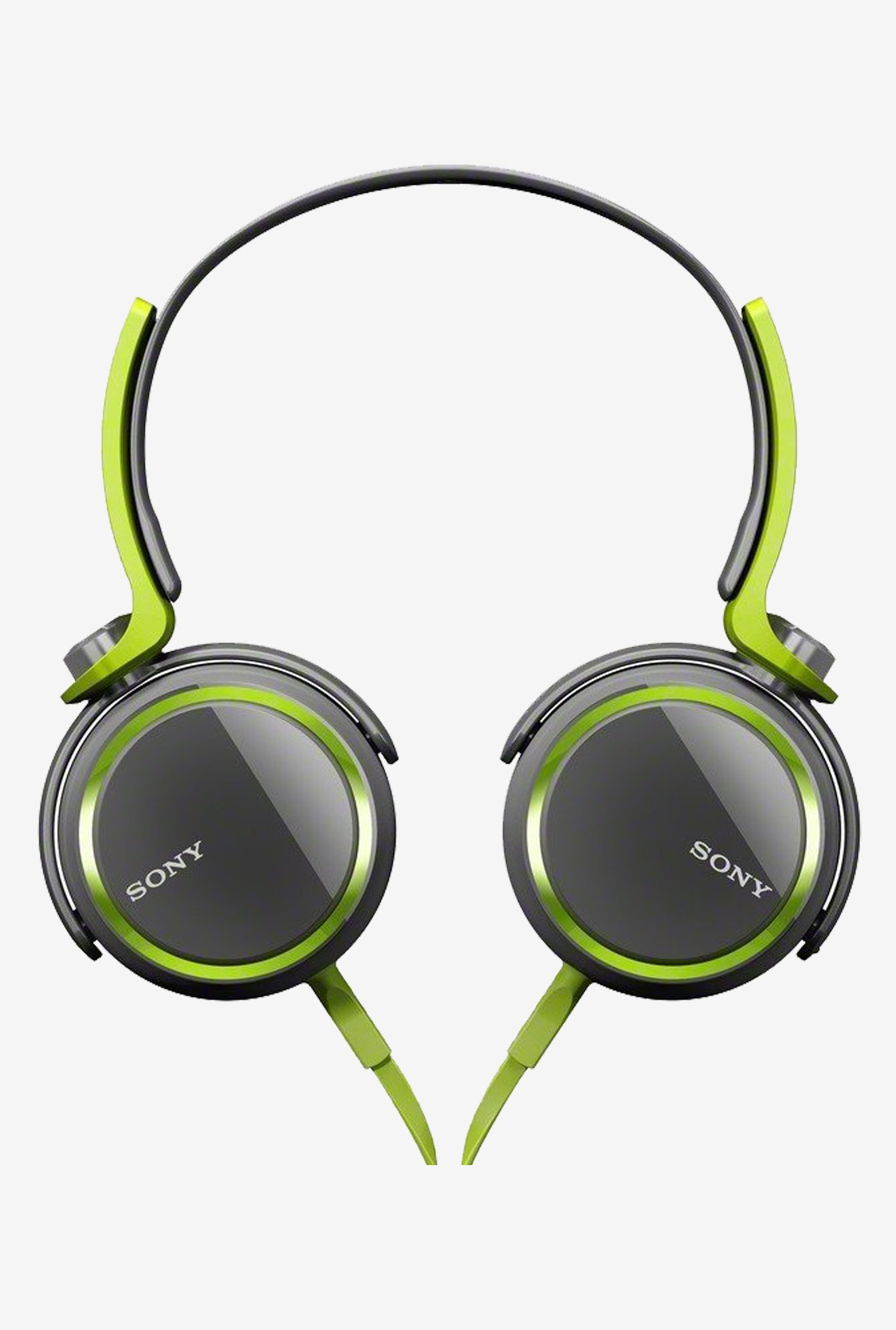 Sony MDRXB400/GRN Extra Bass Over The Headphone Green