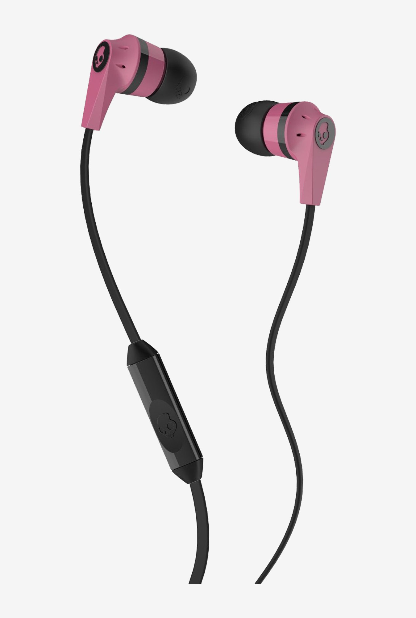 Skullcandy S2IKDY-133 In the Ear Headphone (Pink/Black)