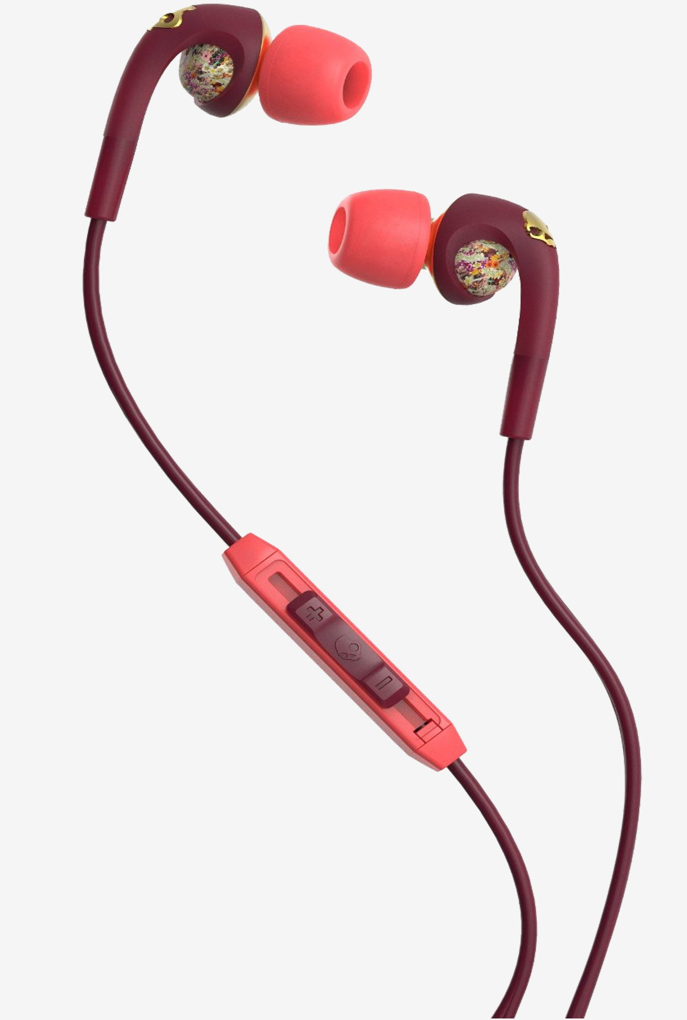 Skullcandy S2FXGM-432 Bombshell Floral Earphone (Gold)