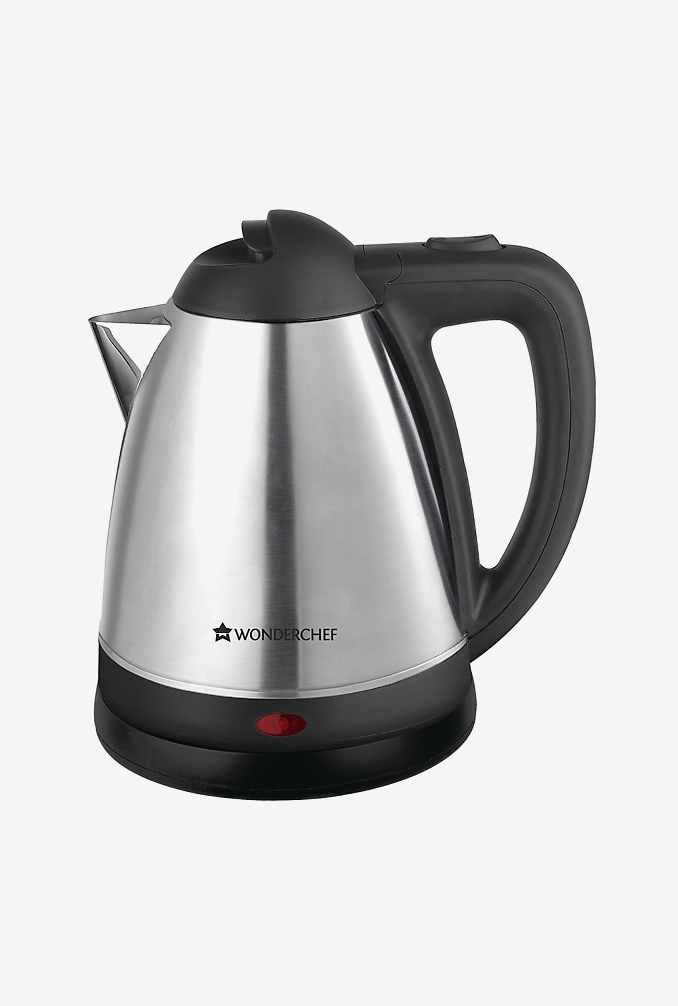 Wonderchef Prato 1.5 L 1800 W Cordless Kettle (Silver)