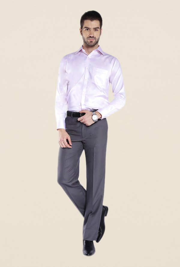 Park Avenue Pink Solid Shirt