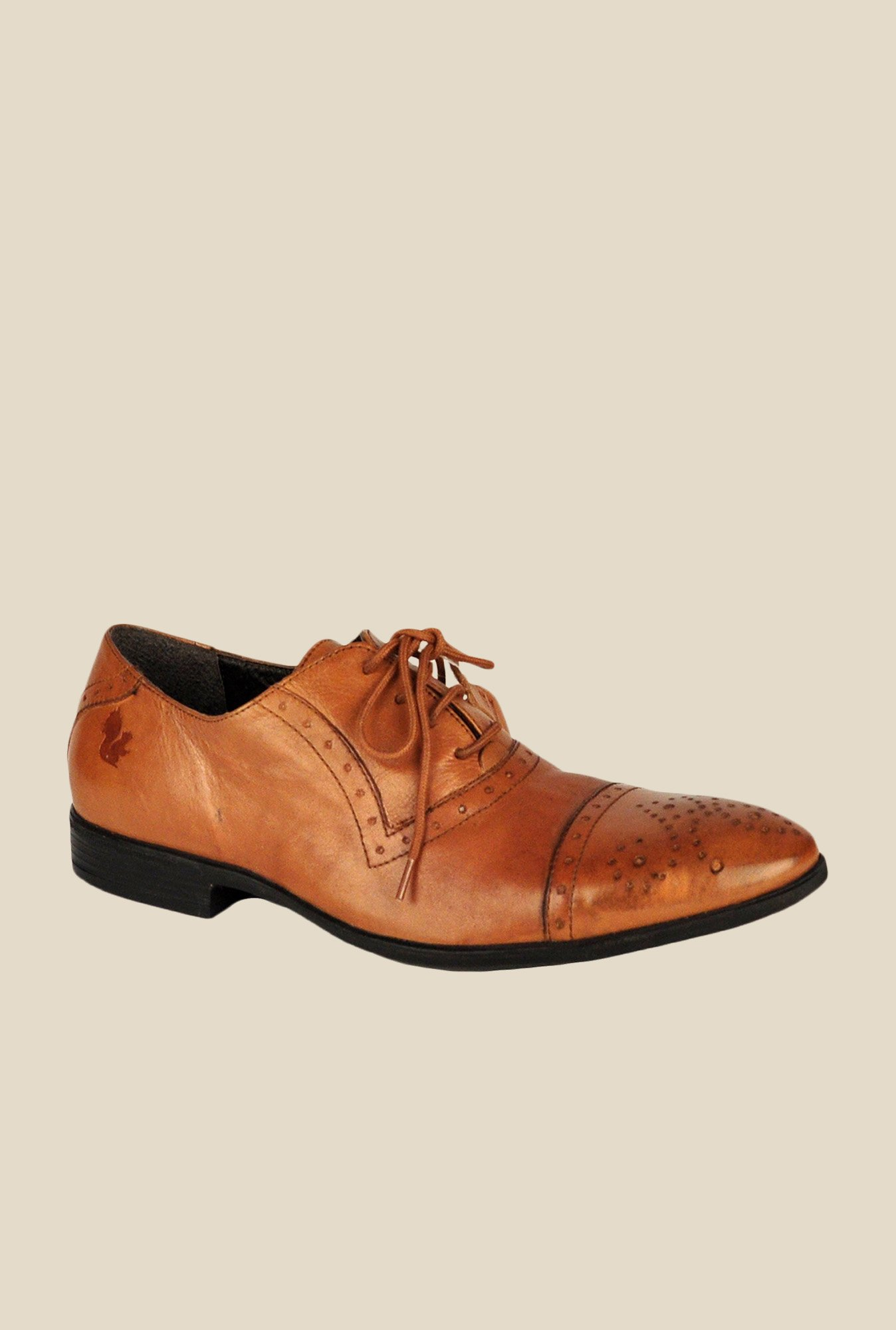 Salt 'n' Pepper Koop Almond Oxford Shoes