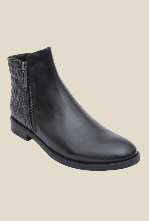 Salt 'n' Pepper England Black Casual Boots