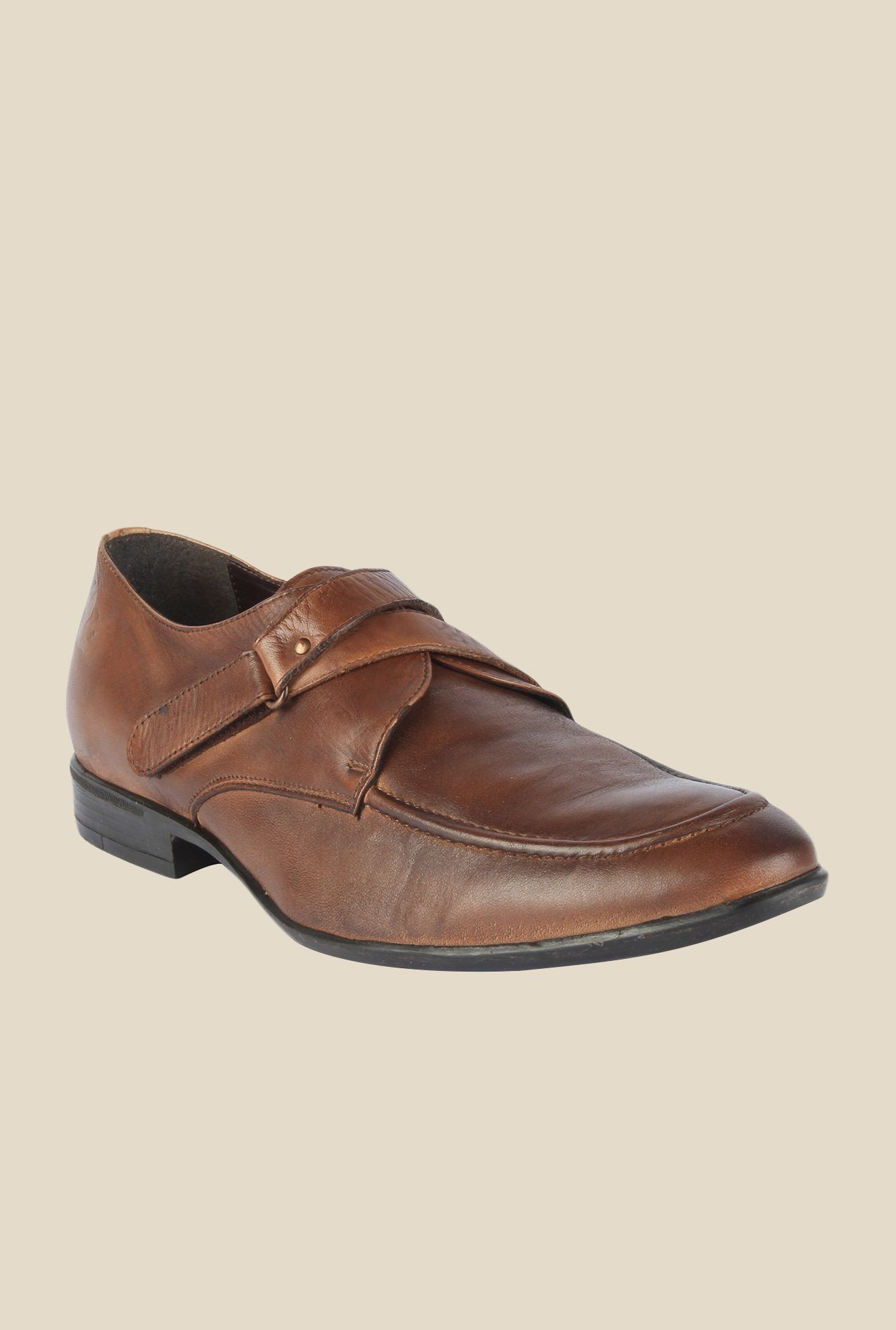 Salt 'n' Pepper Koop Brown Monk Shoes