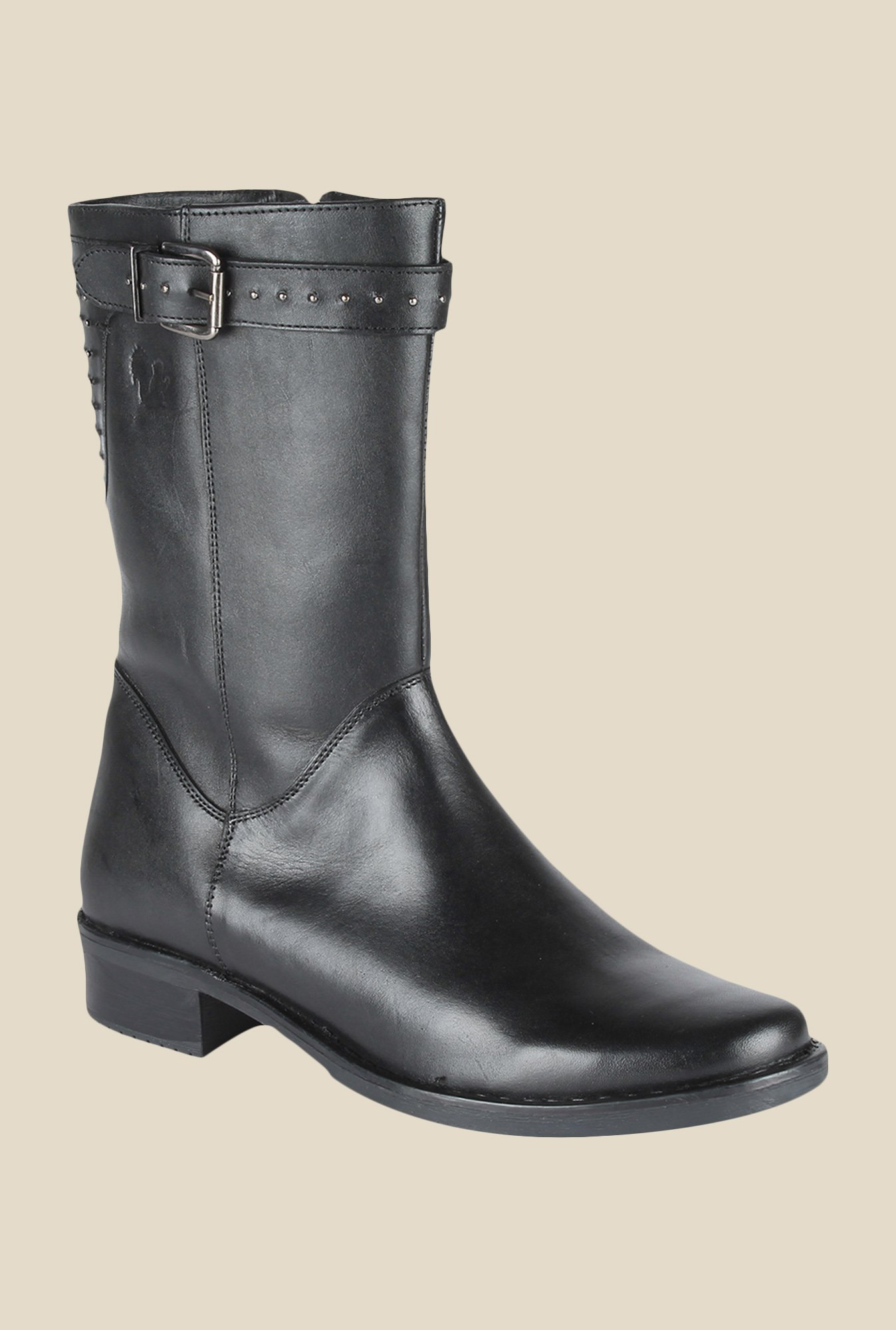 Salt 'n' Pepper Amonia Black Casual Boots
