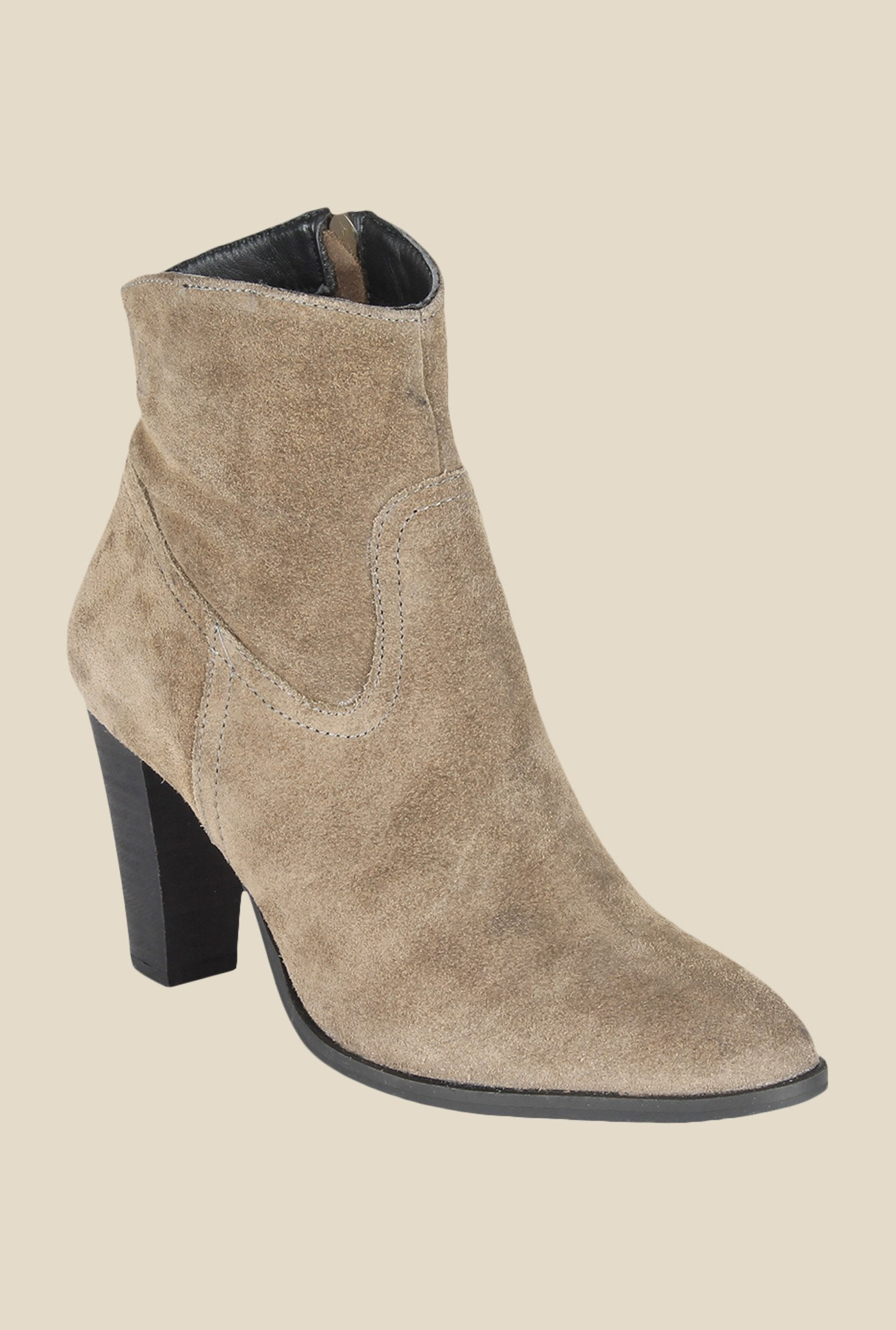 Salt 'n' Pepper Star Camel Casual Boots