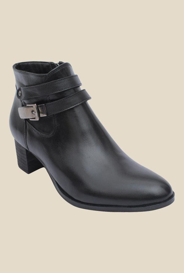 Salt 'n' Pepper Sophie Black Casual Boots