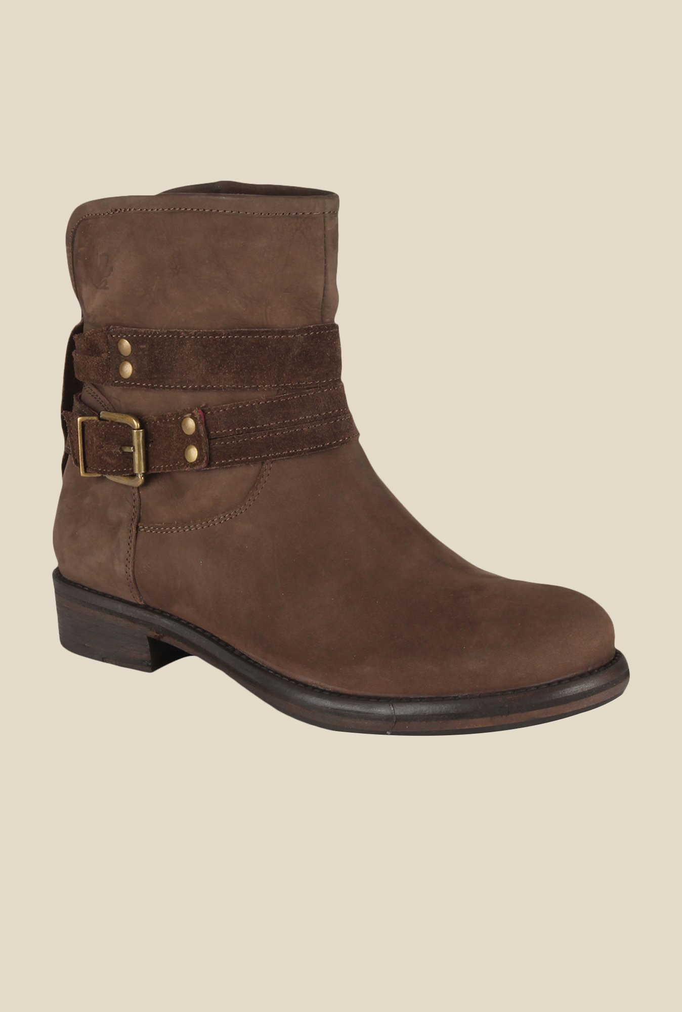 Salt 'n' Pepper Dorothea Brown Casual Boots