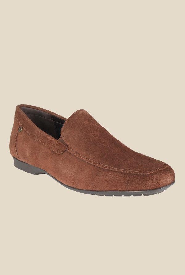 Salt 'n' Pepper Virtual Brown Loafers