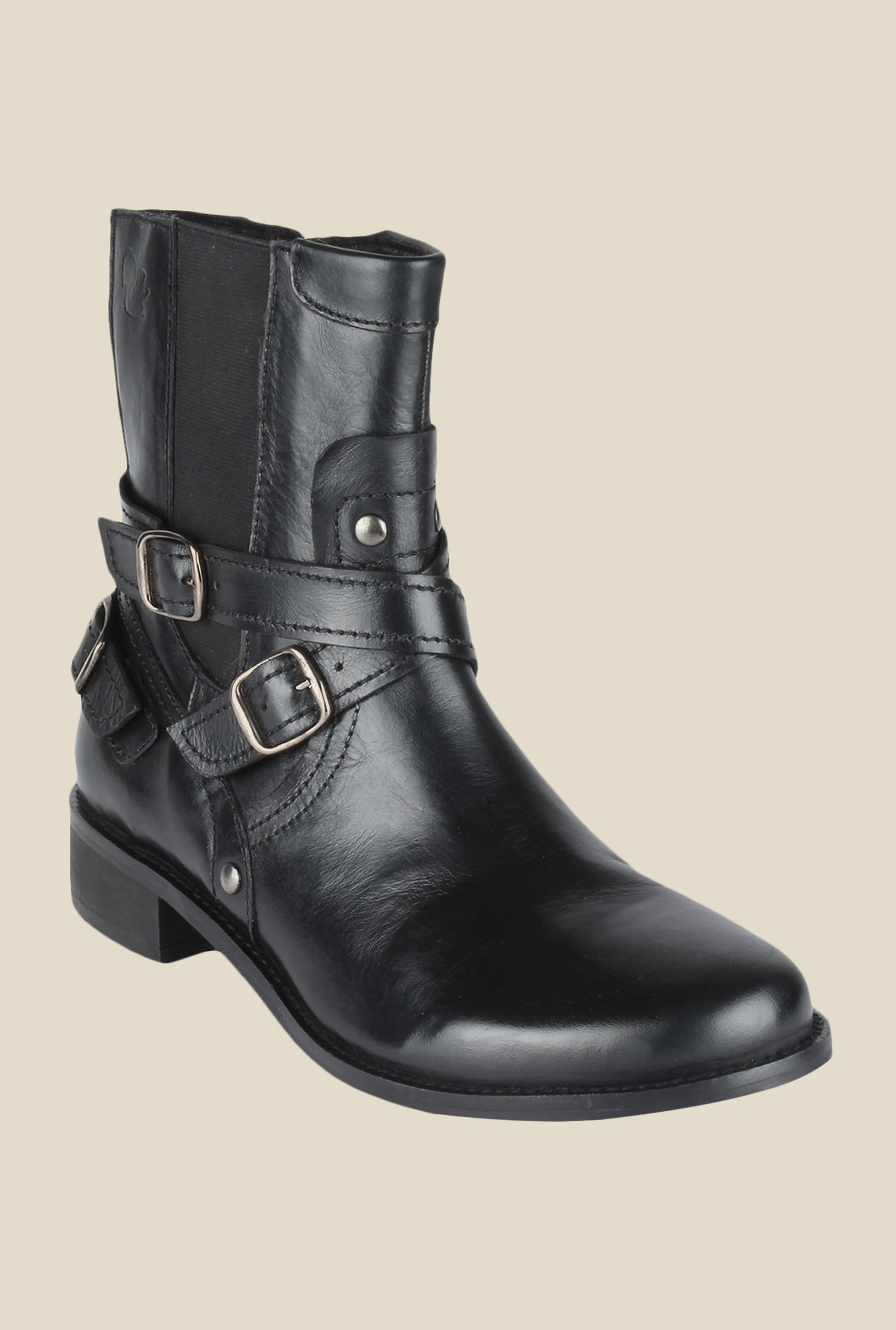 Salt 'n' Pepper Criminal Black Casual Boots