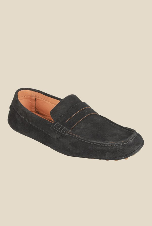 Salt 'n' Pepper Brad Black Loafers