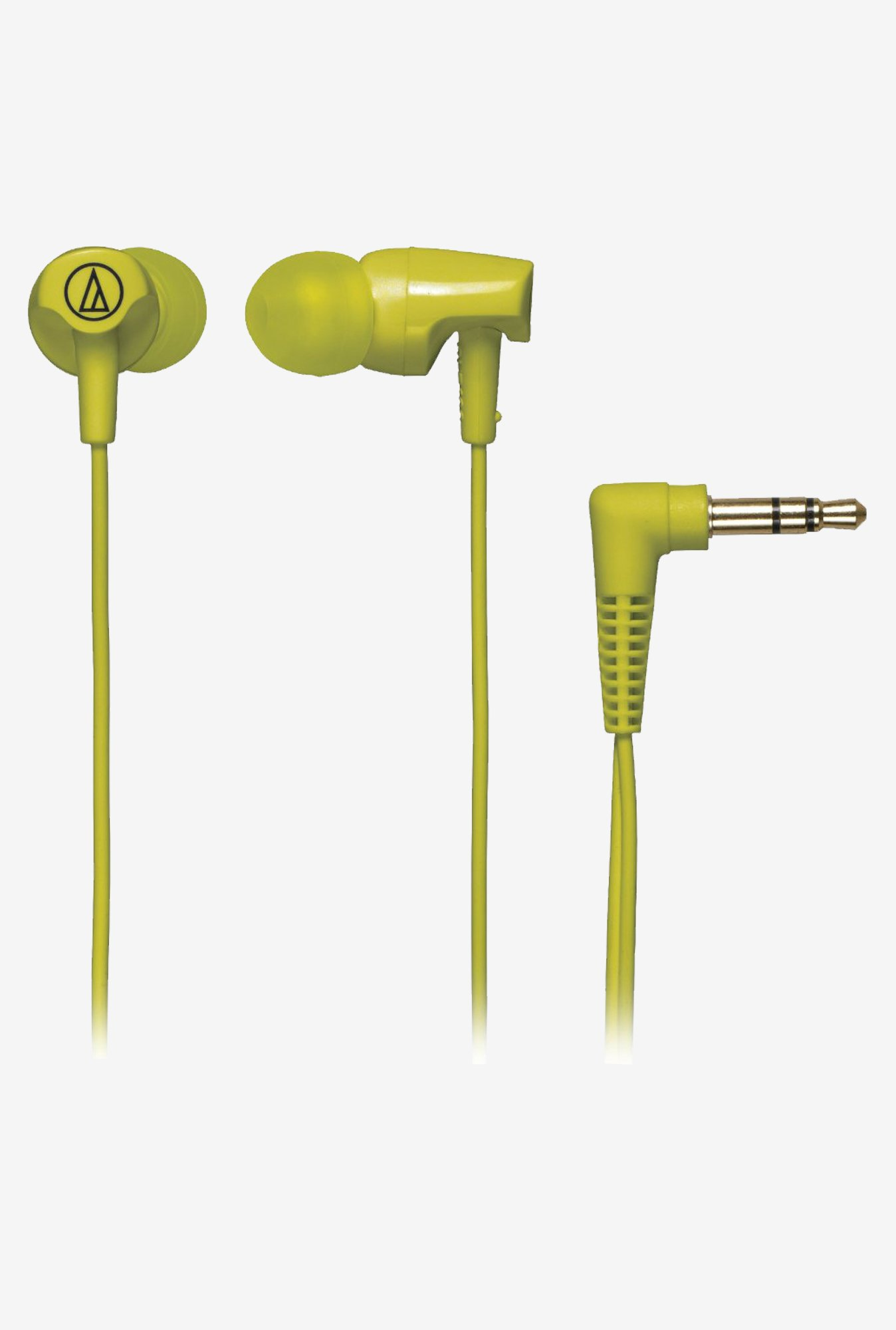 Audio Technica ATH-CLR100 In ear Headphones (Lime Green)