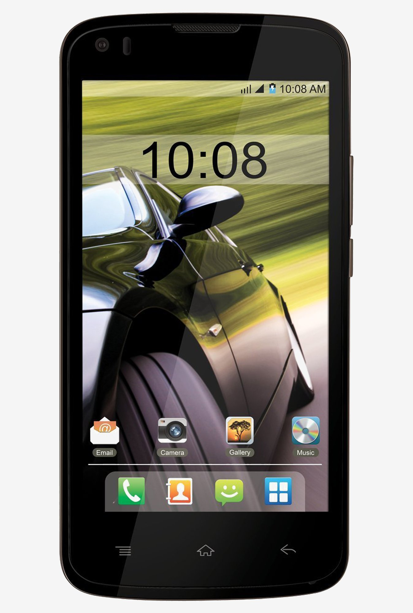 Intex Aqua Speed Touchscreen Smart Phone (Black)