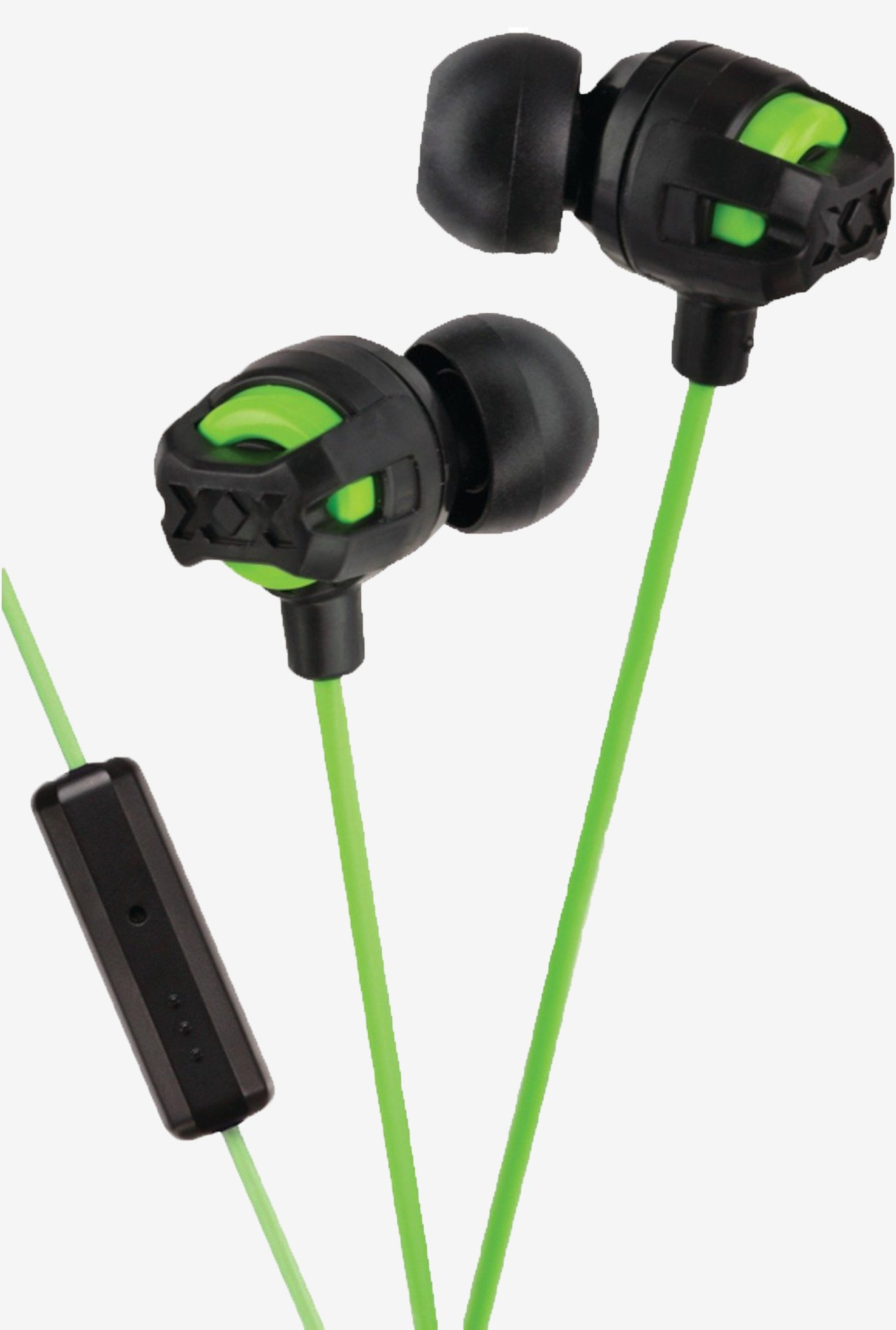 JVC HAFR201G XTREME In the Ear Headphone (Green)